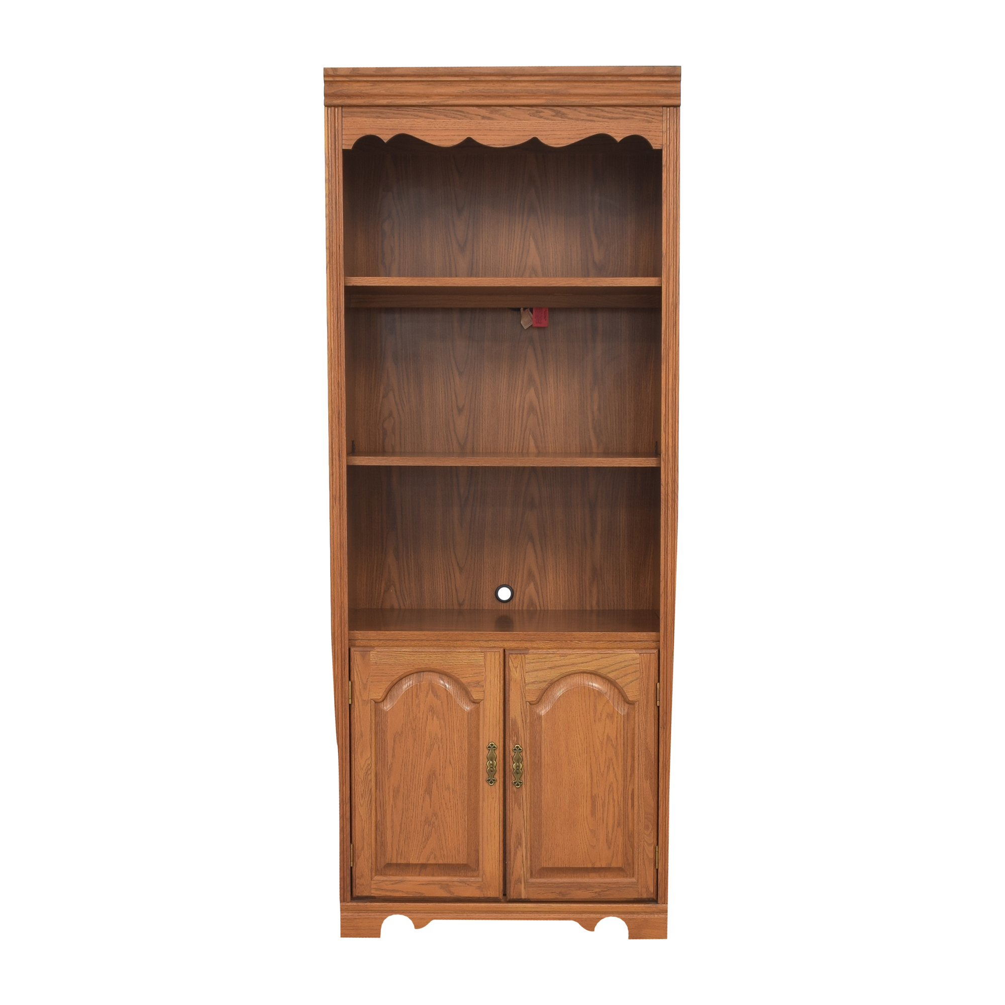 buy Broyhill Lighted Bookcase Cabinet Broyhill Furniture Bookcases & Shelving
