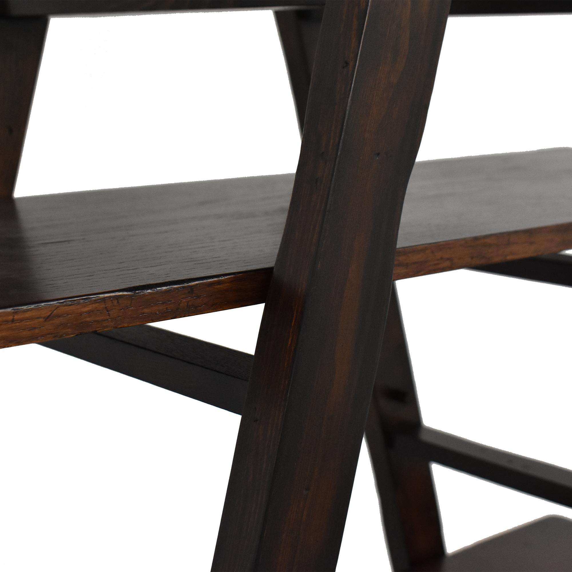 shop Z Gallerie Ladder Shelf Z Gallerie Storage