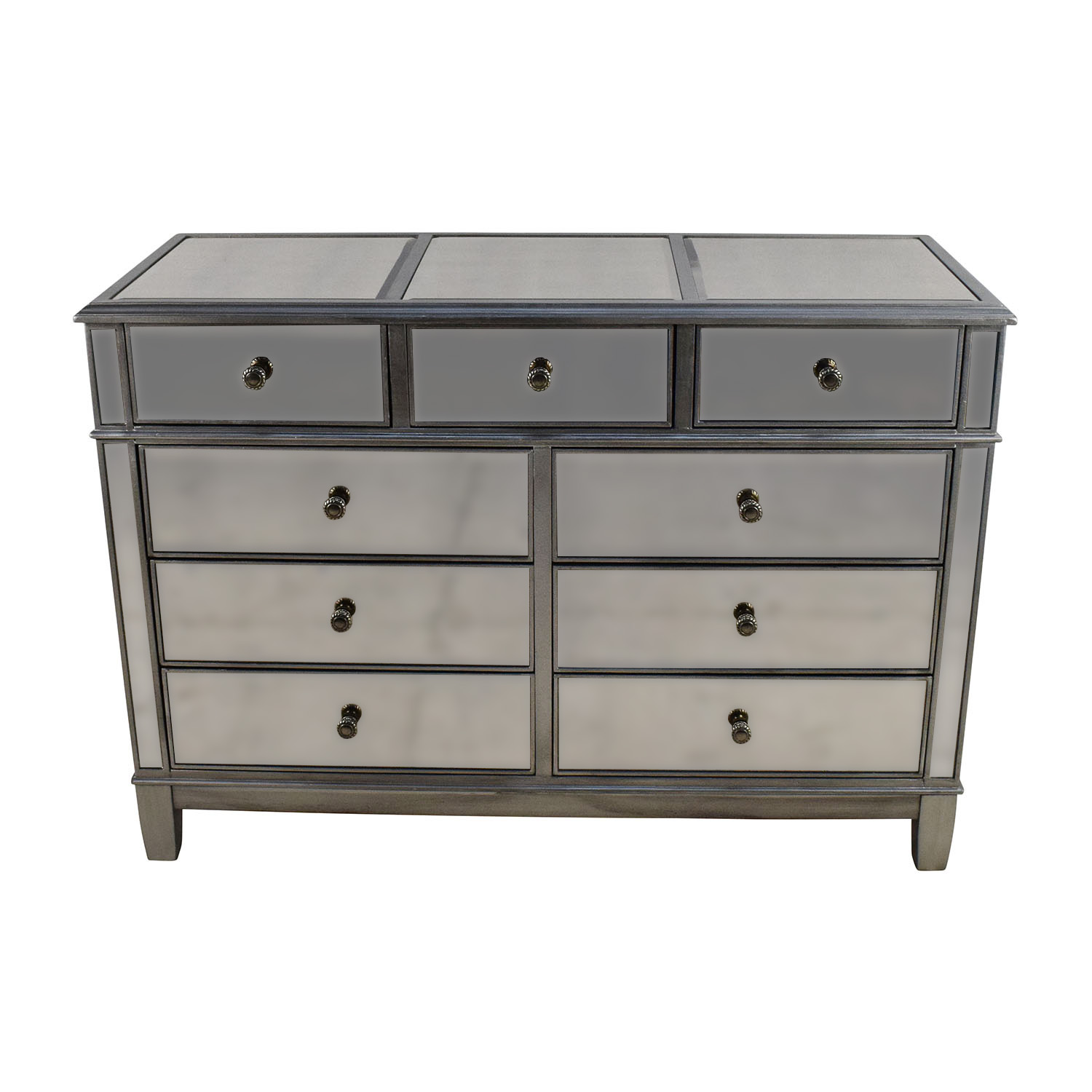 shop Pier 1 Hayworth Collection Mirrored Silver Dresser Pier 1