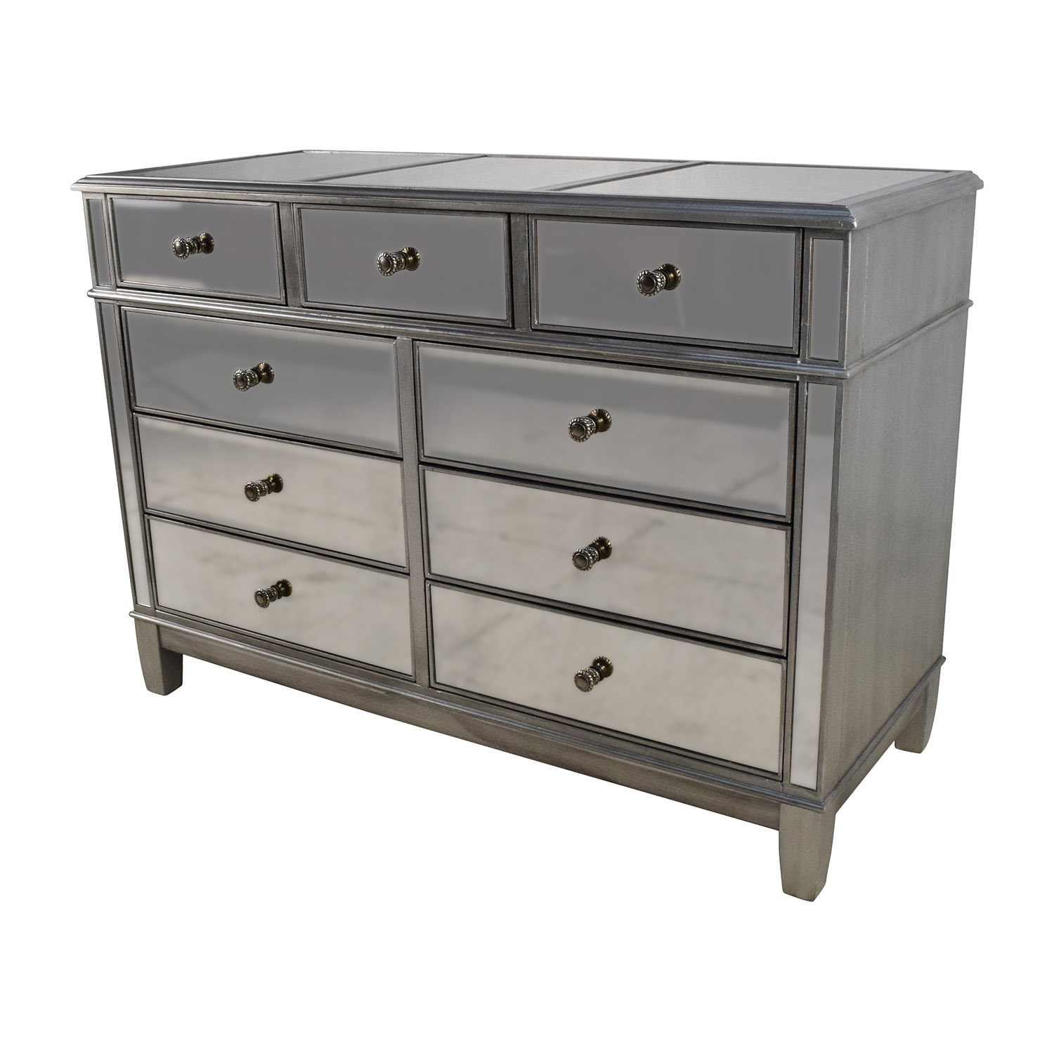 Pier One Bedroom Dressers Hayworth Mirrored Dresser Bestdressers 2017