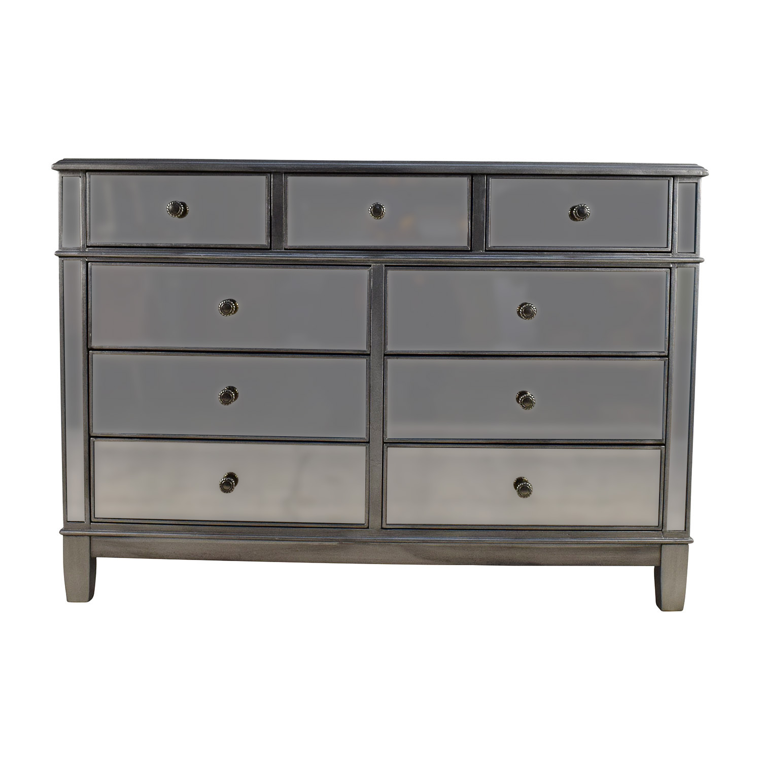 hayworth furniture collection. Pier 1 Hayworth Collection Mirrored Silver Dresser Second Hand Furniture