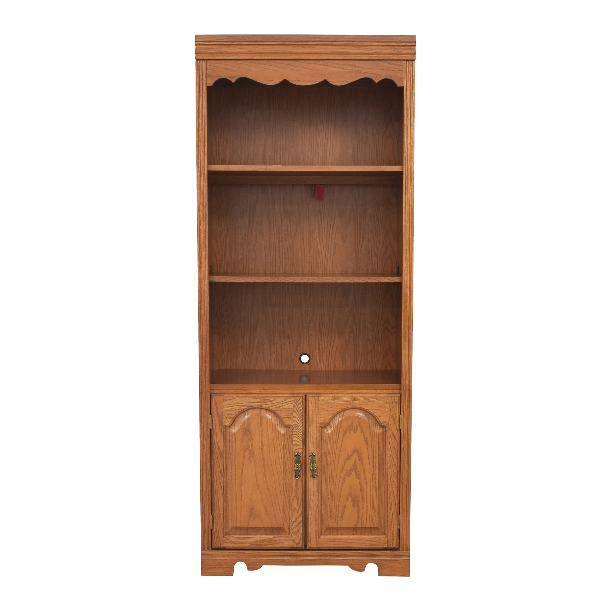 shop Broyhill Furniture Broyhill Lighted Bookcase Cabinet online