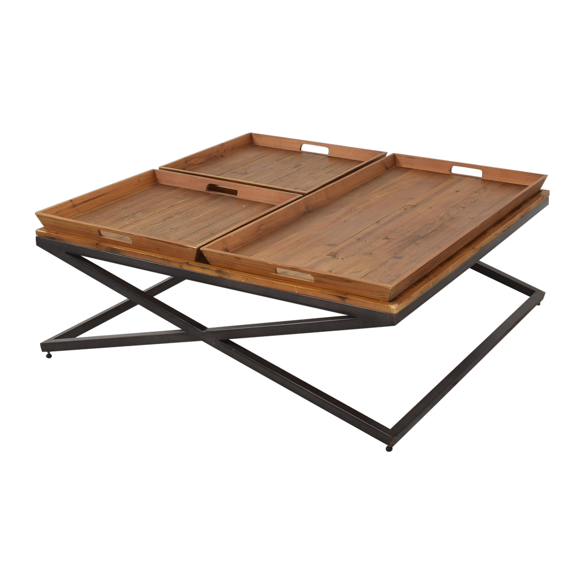 buy Four Hands Jax Square Coffee Table Four Hands Coffee Tables