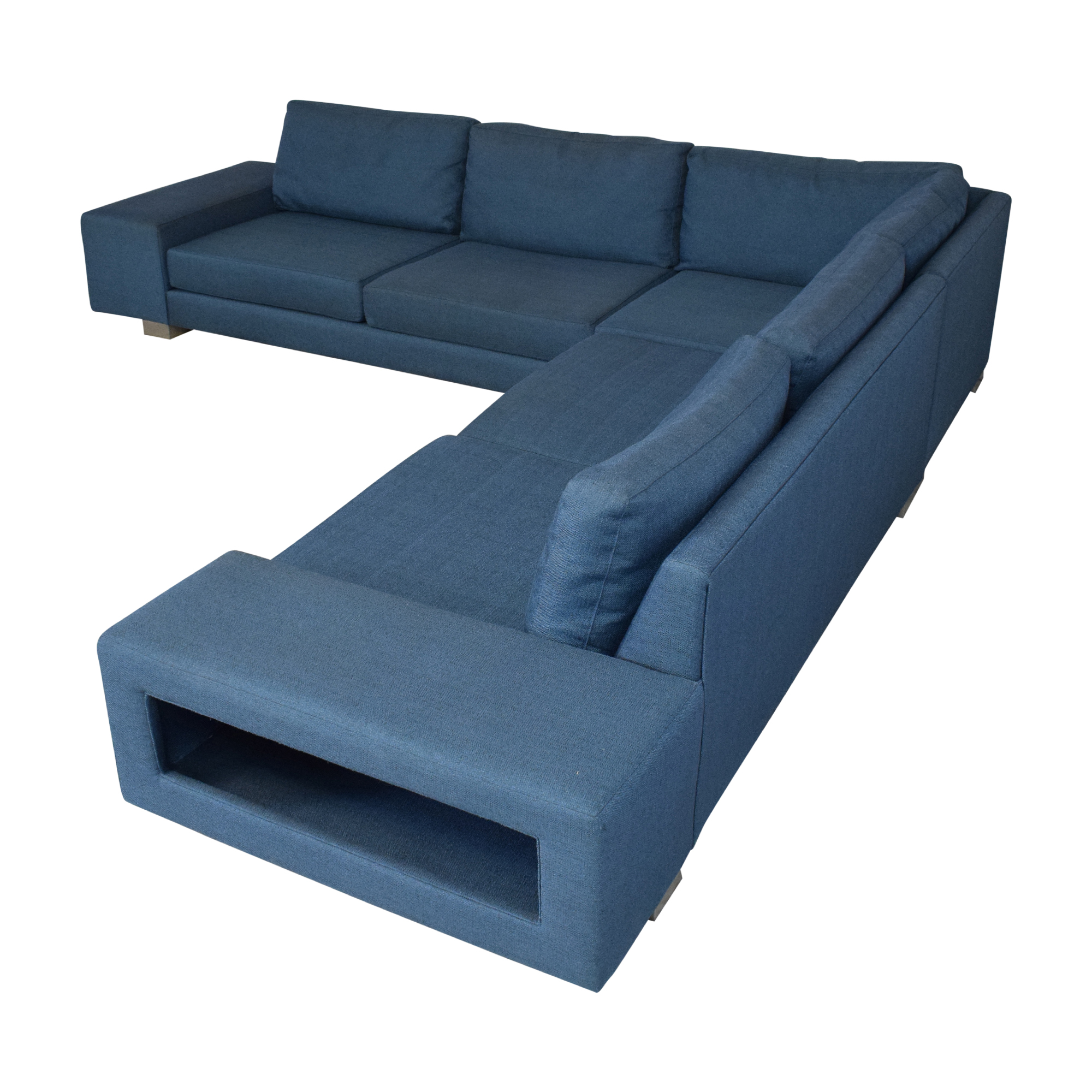 buy Viesso Strata Storage Sectional Sofa Viesso Sofas
