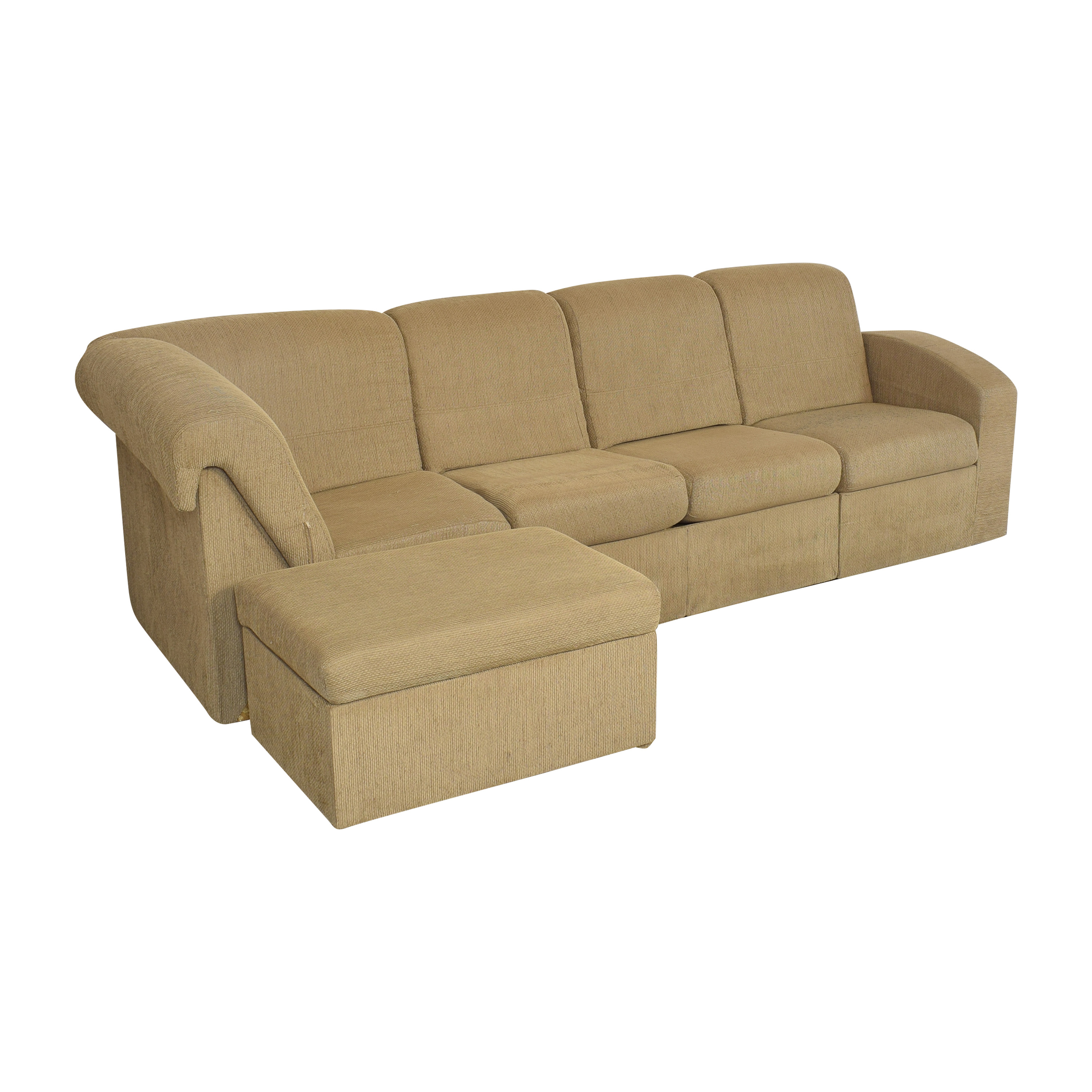 Home Reserve Home Reserve Brooks Sectional Couch beige