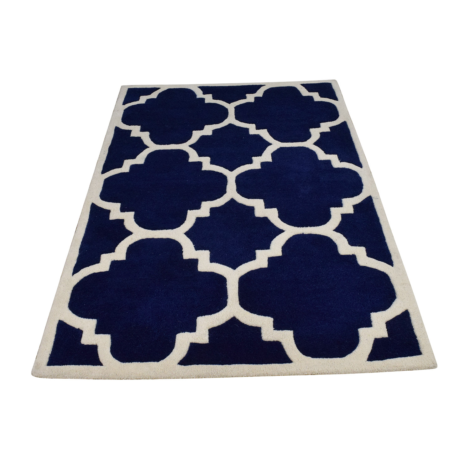 53 Off Safavieh Safavieh Moroccan Cambridge Navy Ivory