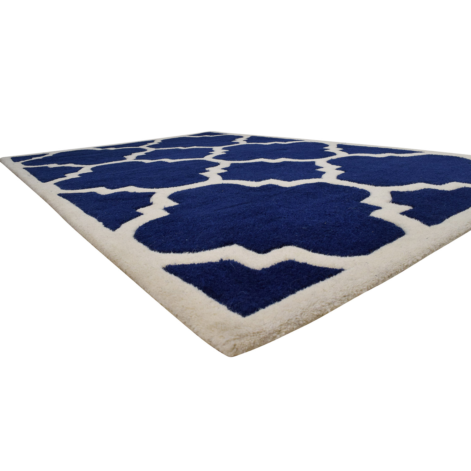 Safavieh Safavieh Moroccan Cambridge Navy Ivory Rug nyc