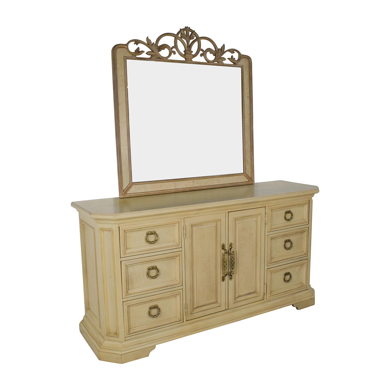 Custom Built Dresser and Mirror nj