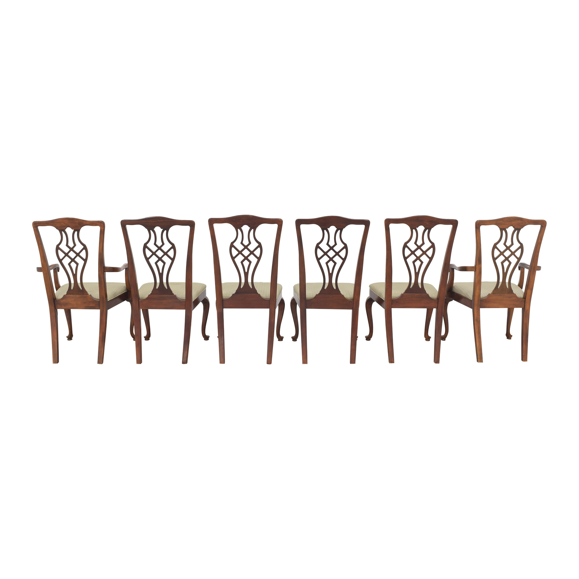 Drexel Heritage Drexel Upholstered Dining Chairs nyc