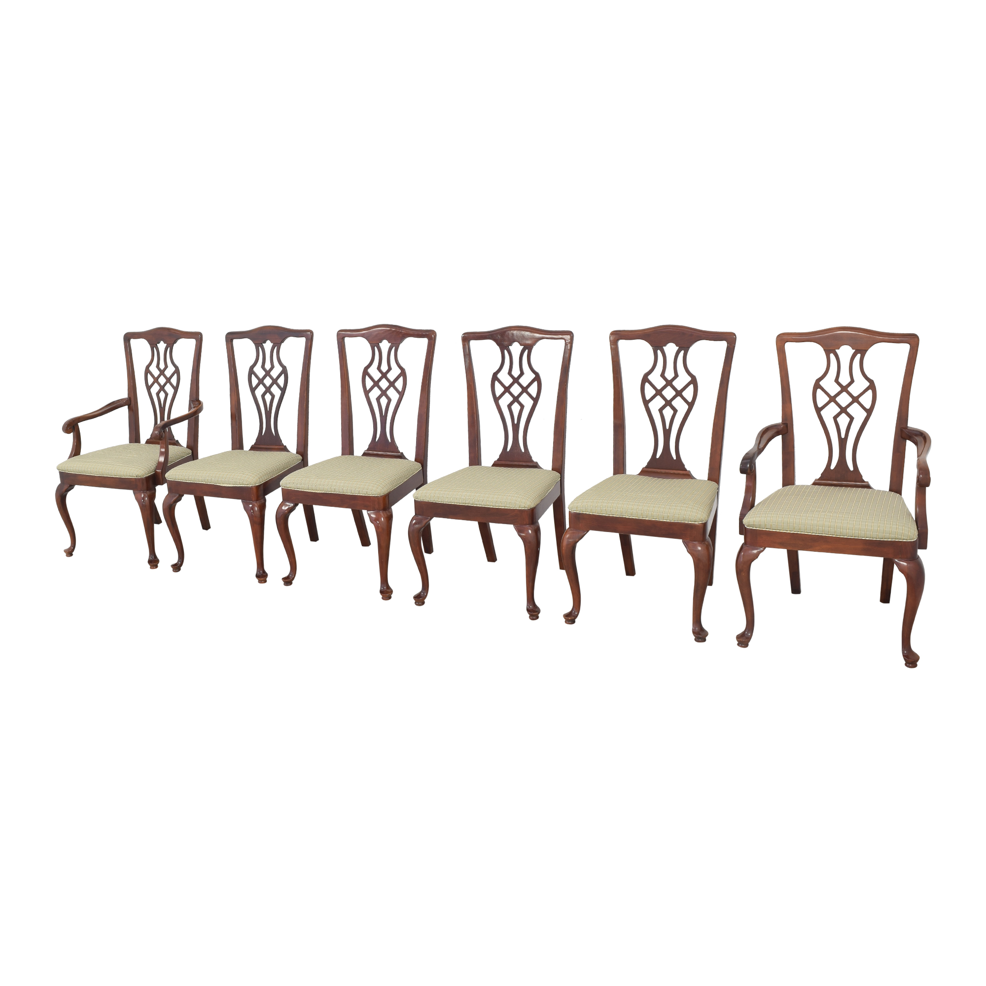 Drexel Upholstered Dining Chairs / Chairs
