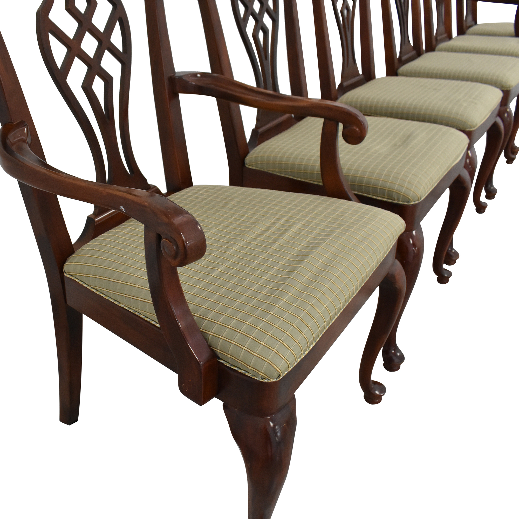 Drexel Heritage Drexel Upholstered Dining Chairs Dining Chairs