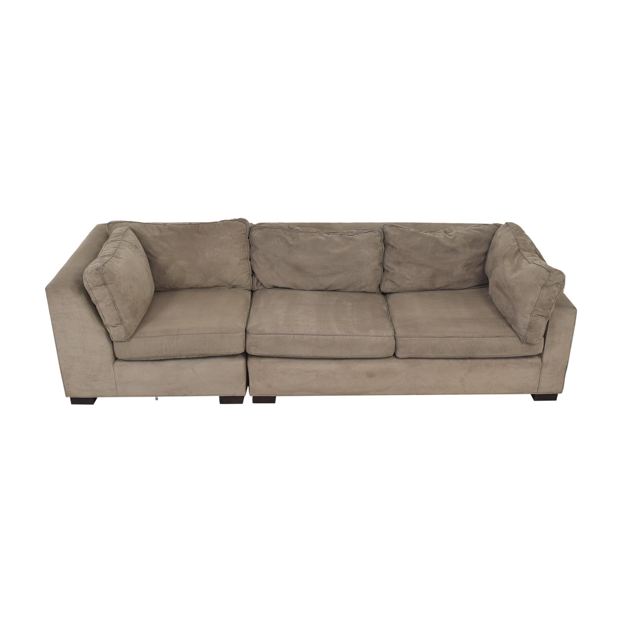 Mitchell Gold + Bob Williams Sectional Sofa / Sofas