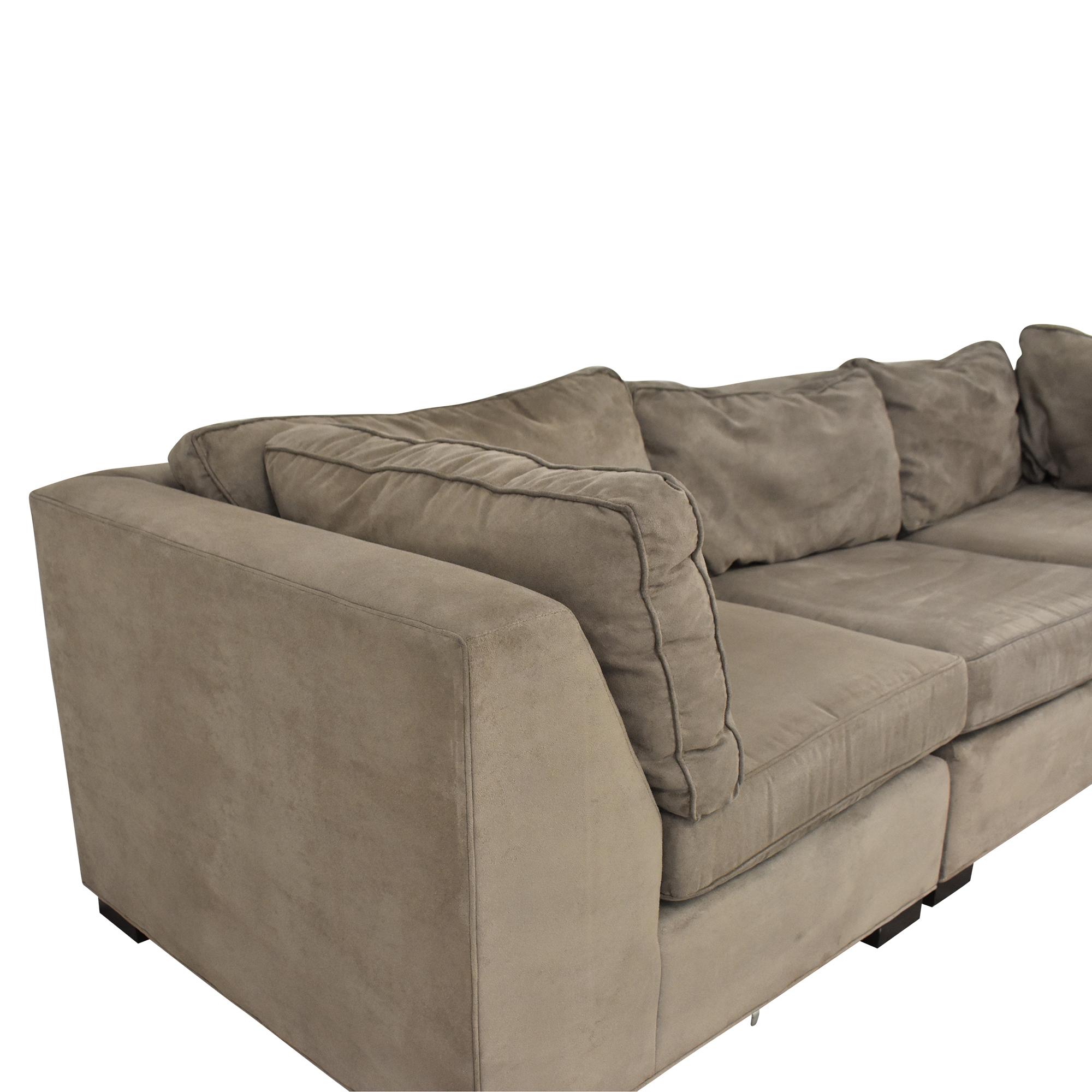 Mitchell Gold + Bob Williams Mitchell Gold + Bob Williams Sectional Sofa discount