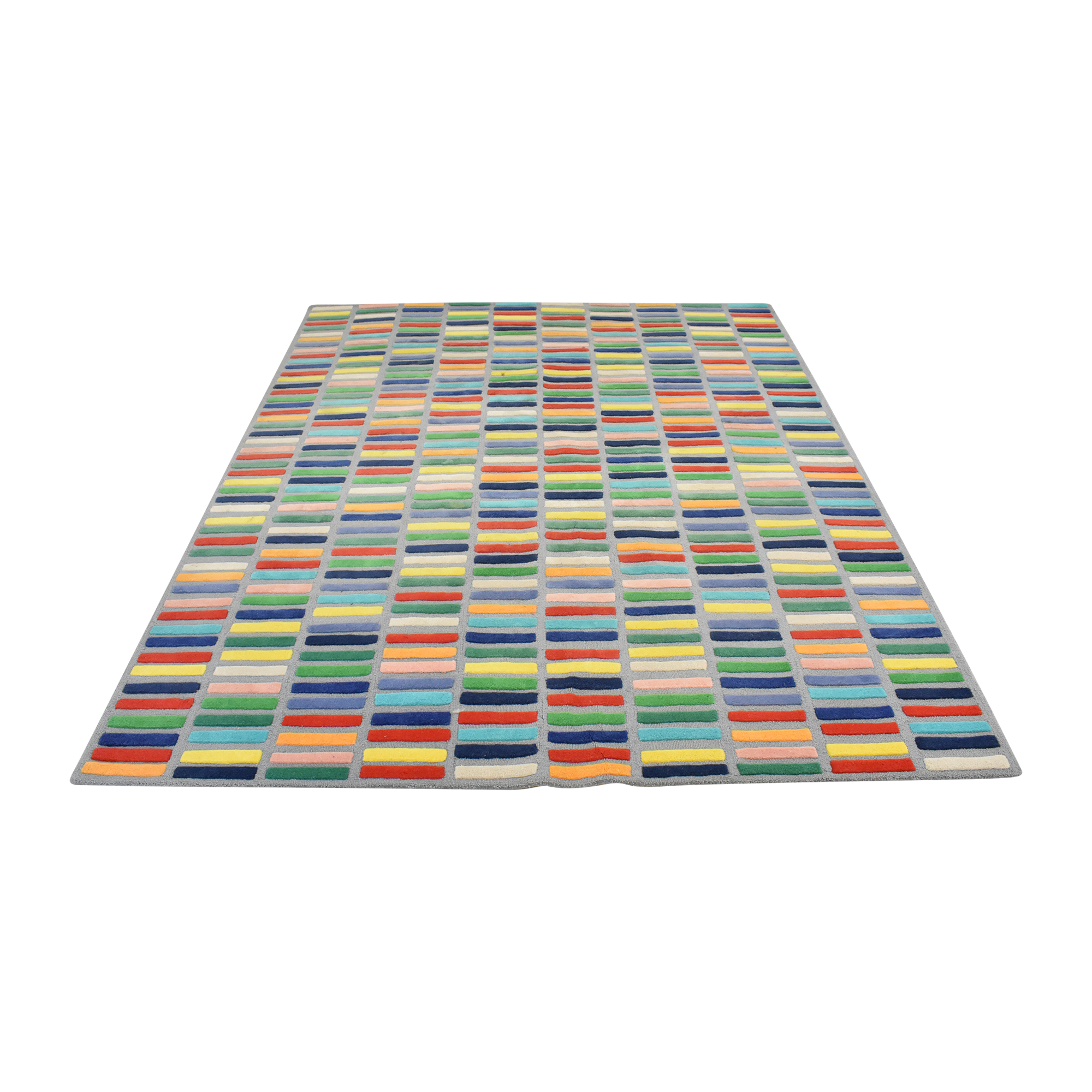 buy Crate & Barrel Color Bar Rug Crate & Barrel Rugs