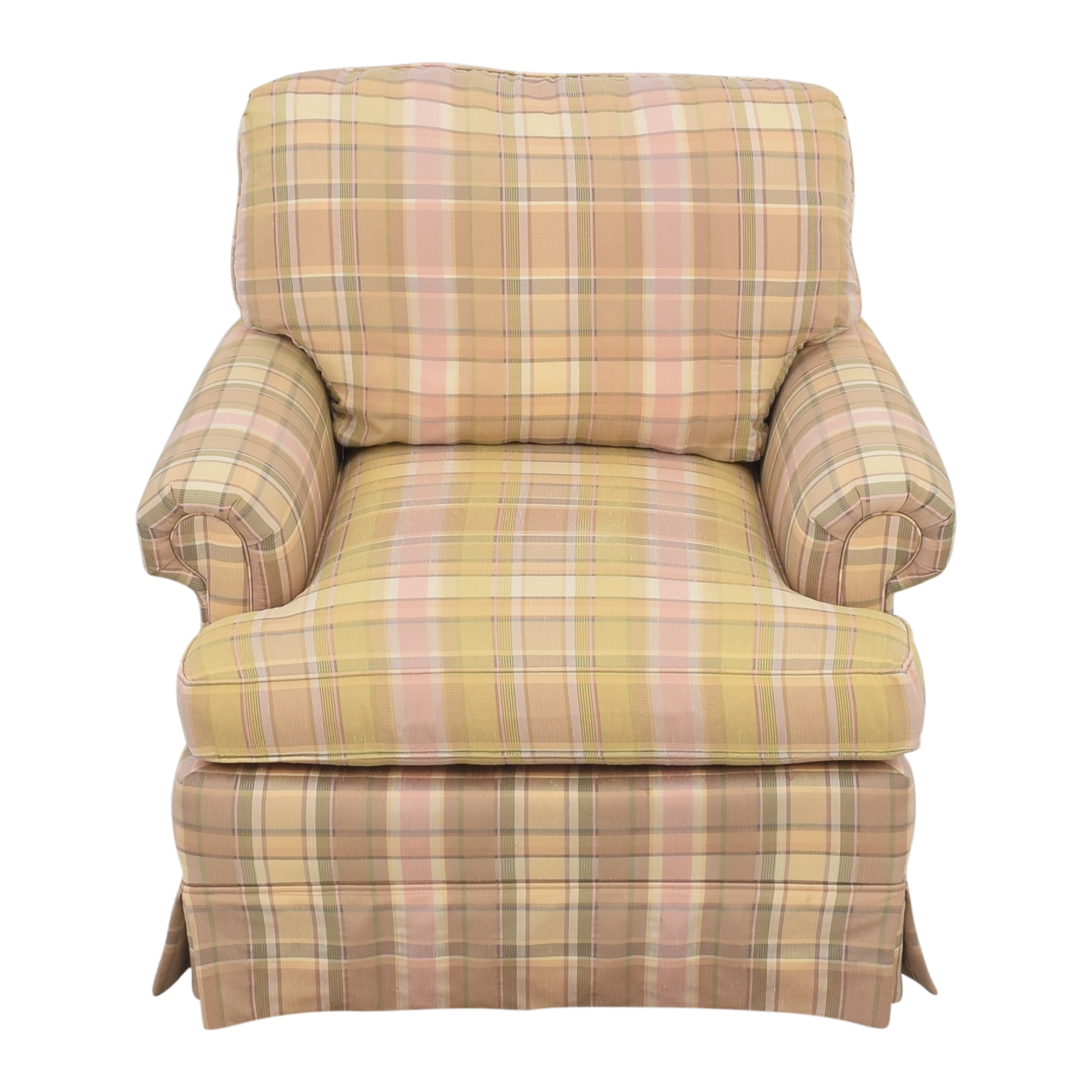 Thomasville Thomasville Skirted Plaid Chair coupon