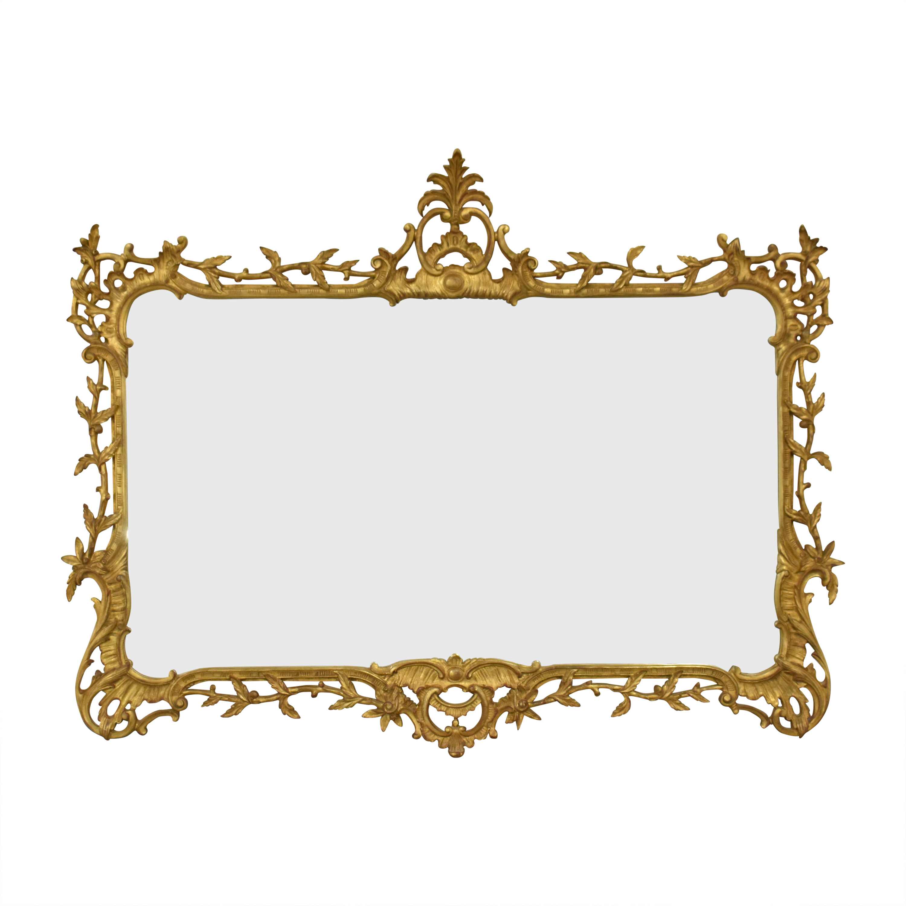 Carvers' Guild Carvers' Guild Foliate Chippendale Mirror gold