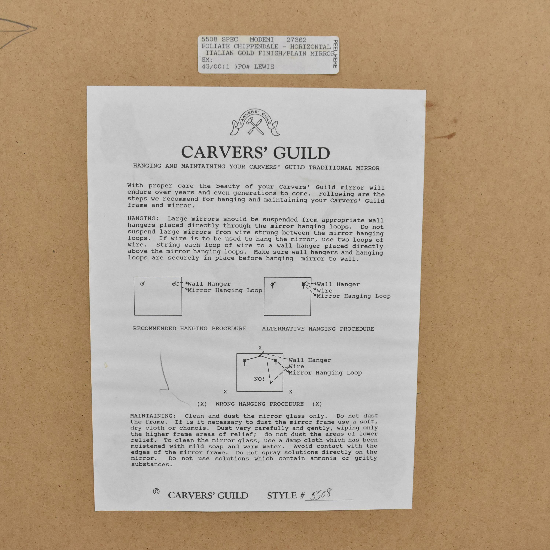 Carvers' Guild Carvers' Guild Foliate Chippendale Mirror