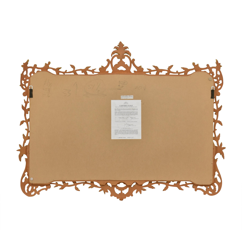 Carvers' Guild Carvers' Guild Foliate Chippendale Mirror ct