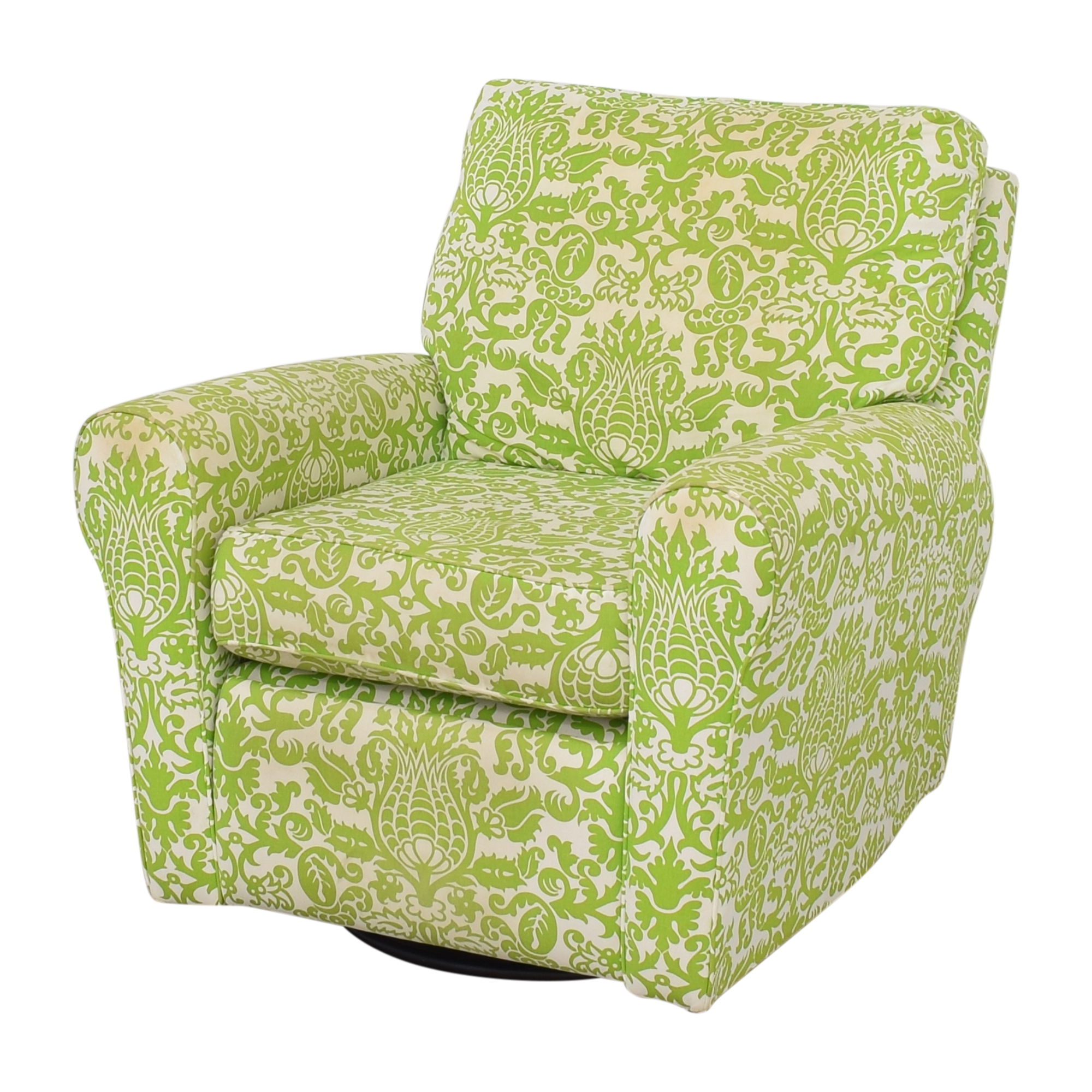 Floral Reclining Swivel Rocking Chair dimensions