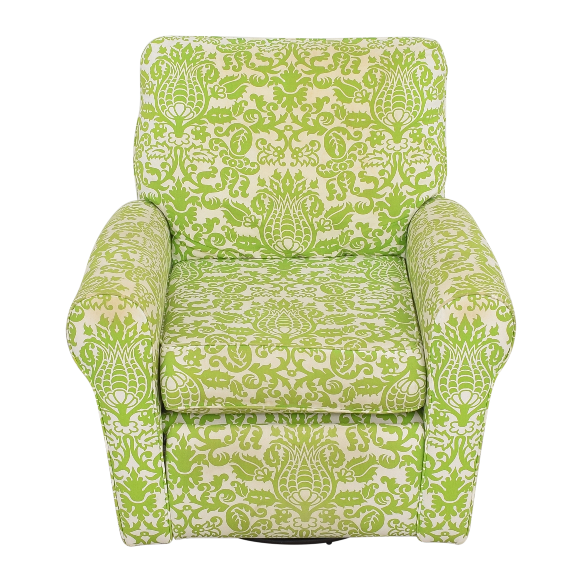 Floral Reclining Swivel Rocking Chair ct