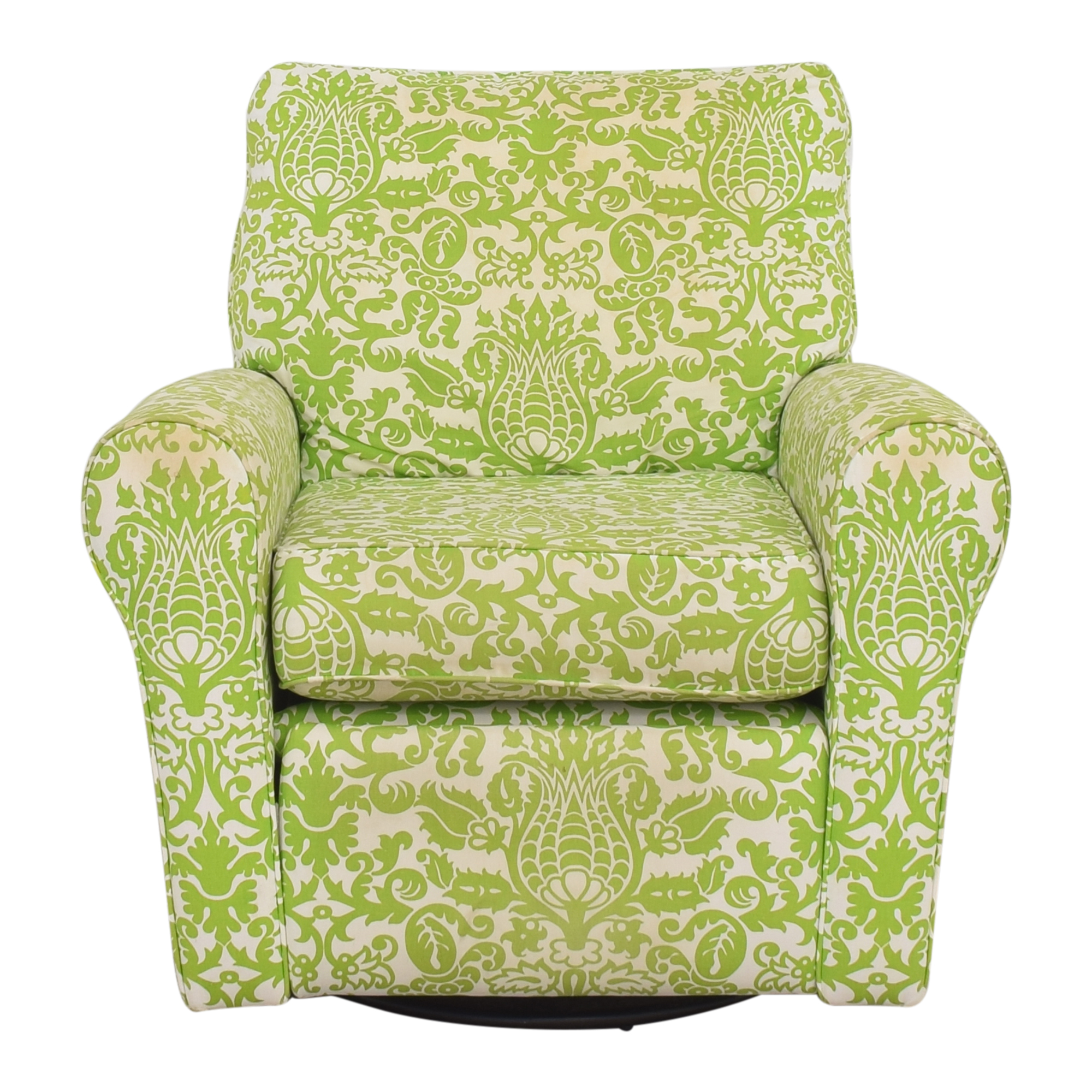 Floral Reclining Swivel Rocking Chair sale