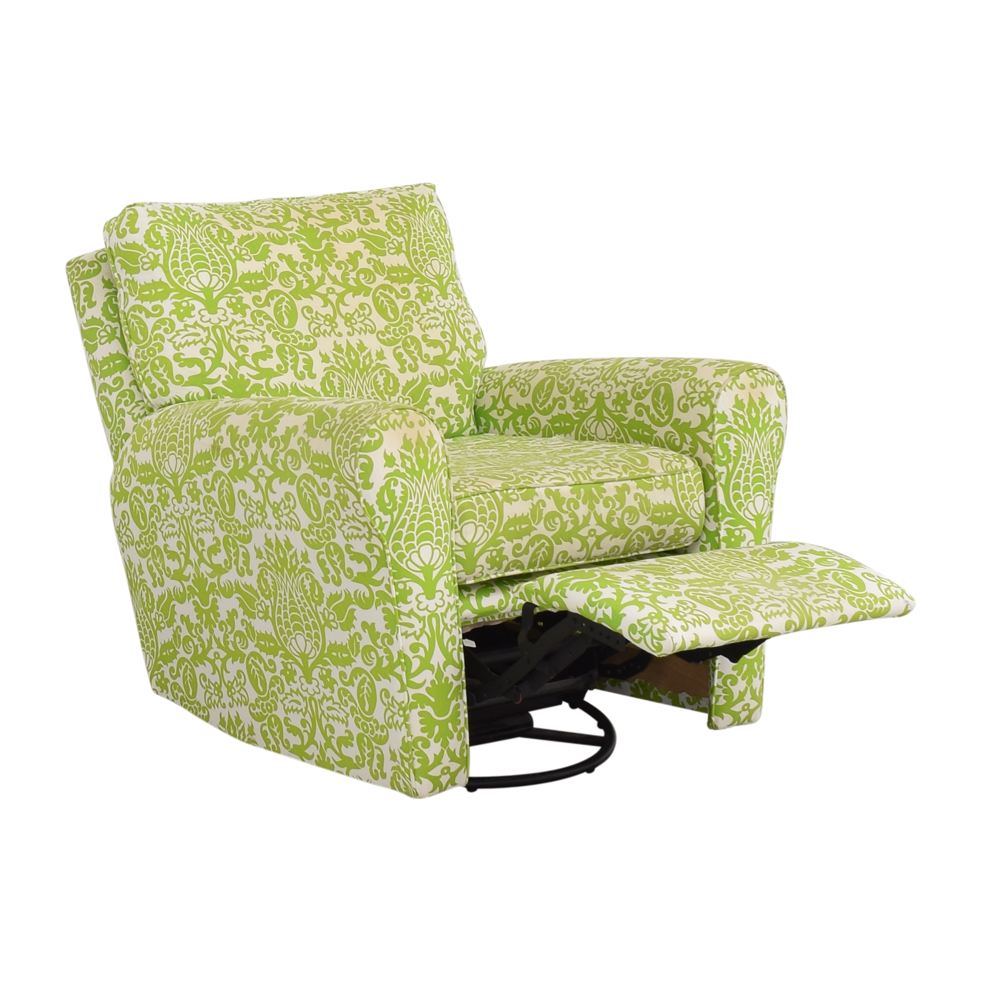 Floral Reclining Swivel Rocking Chair discount