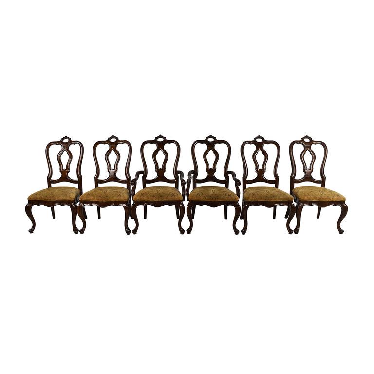 Thomasville Thomasville San Martino Dining Chair Set dimensions