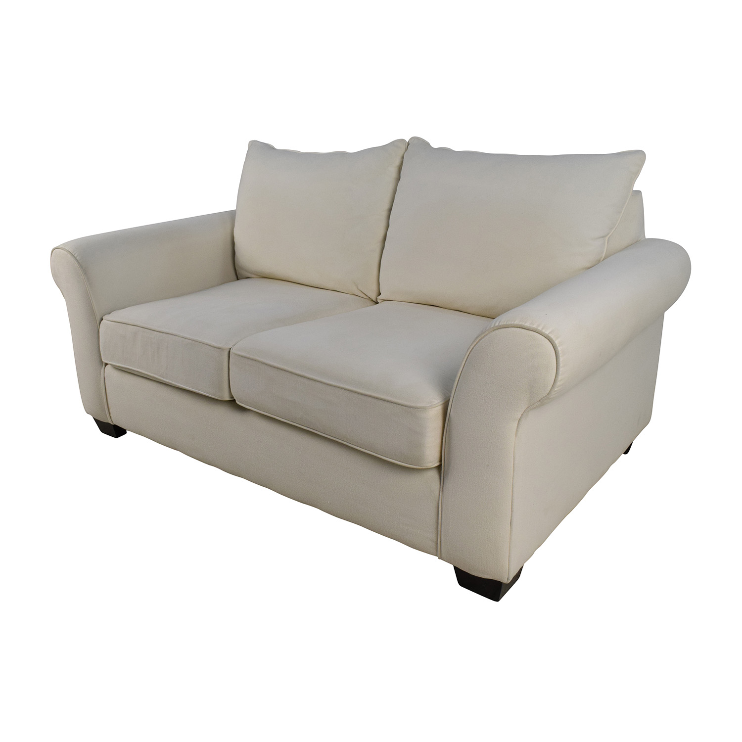 Awesome 72 Off Pottery Barn Pottery Barn Comfort Roll Arm Natural Loveseat Sofas Ocoug Best Dining Table And Chair Ideas Images Ocougorg