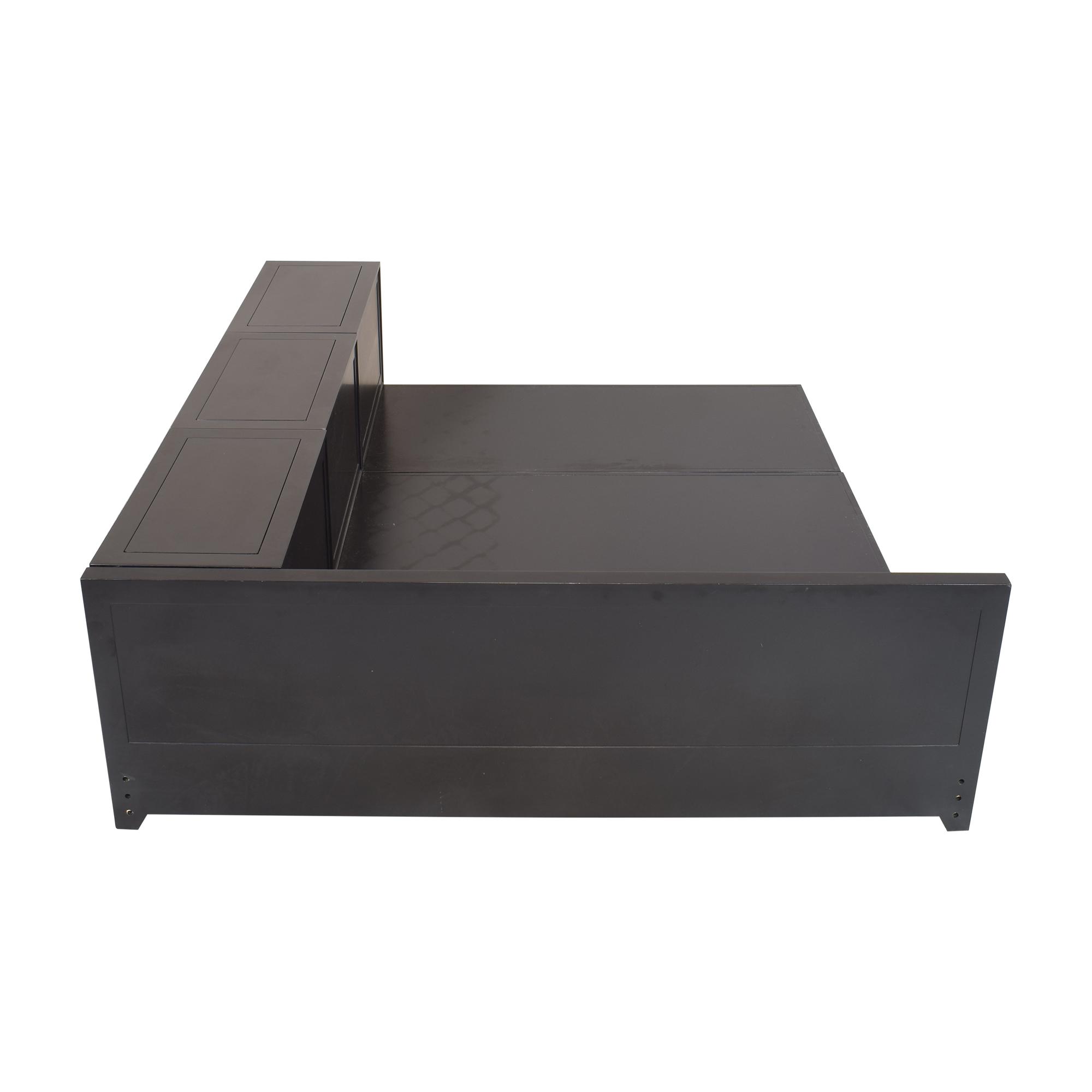 shop PBteen Ultimate Platform Full Bed PBteen