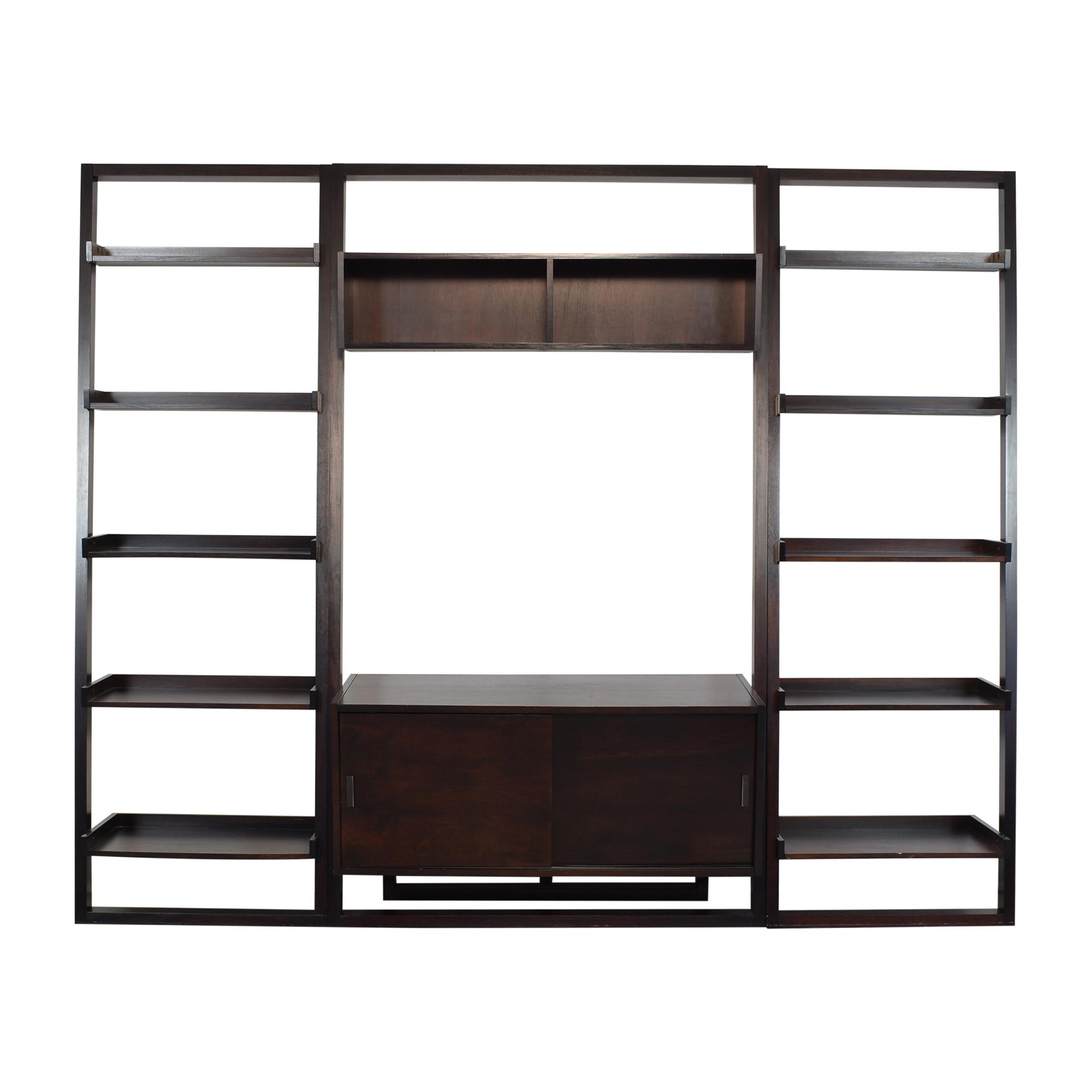 Crate & Barrel Crate & Barrel Sloane Media Center Bookcases & Shelving