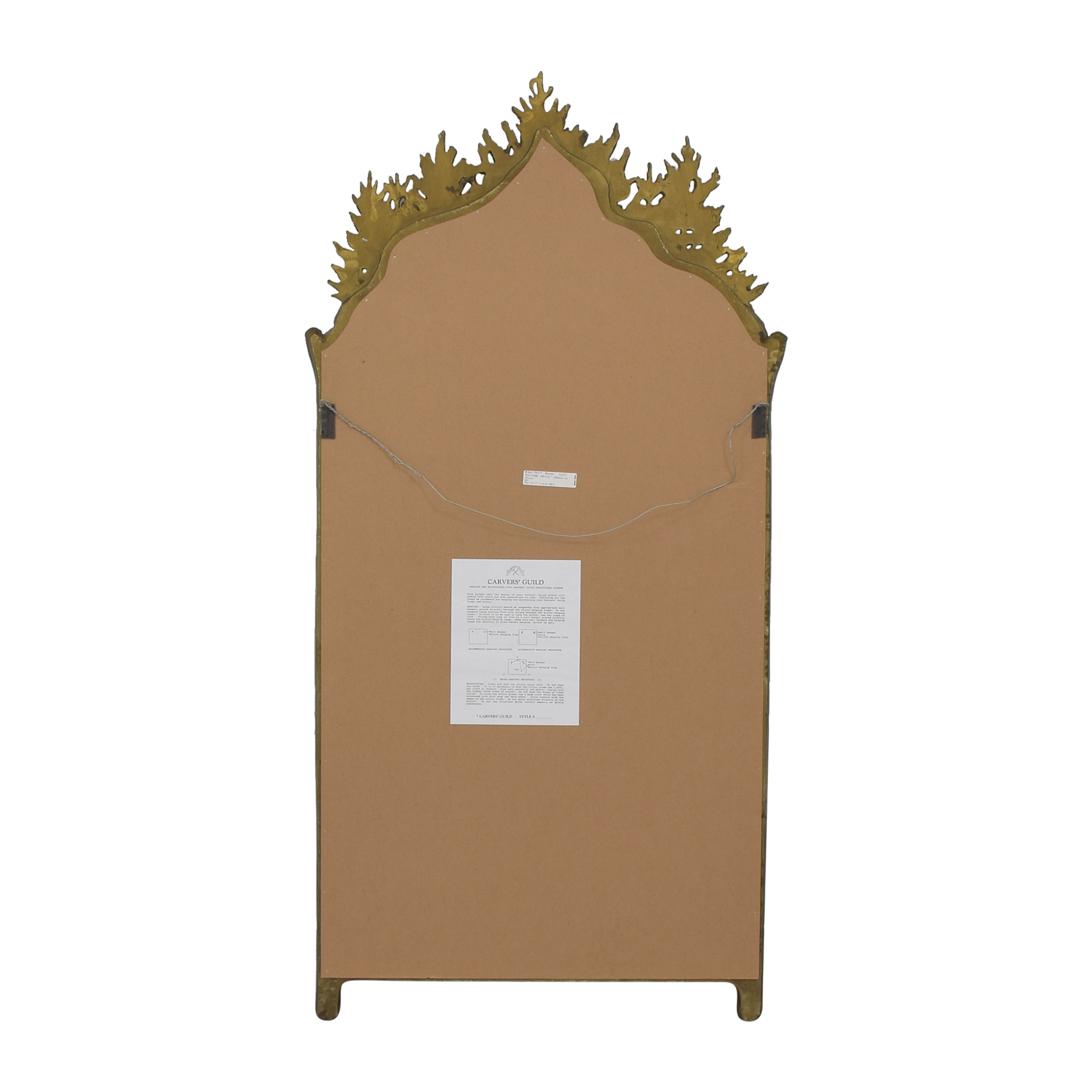 Carvers' Guild Carvers' Guild Traditional Mirror pa