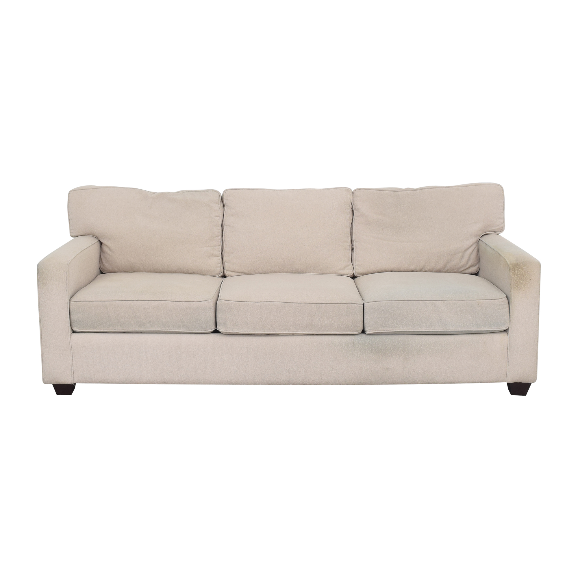 Precedent Furniture Precedent Contemporary Three Cushion Sofa second hand