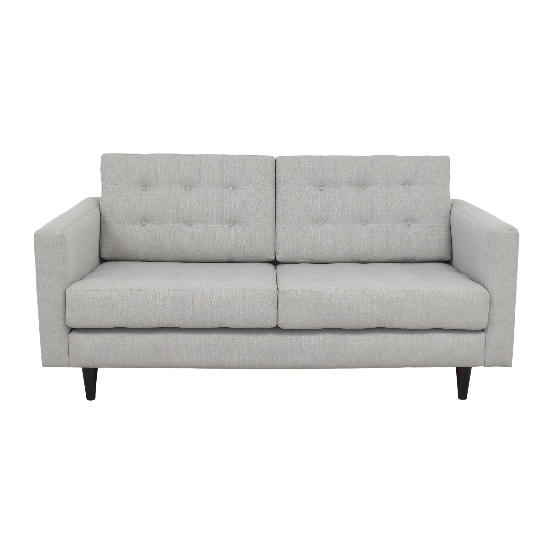 buy Tufted Two Cushion Sofa  Sofas