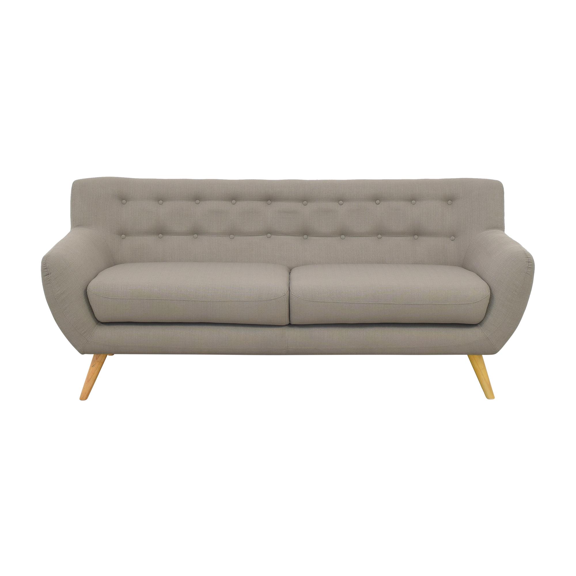 Tufted Two Cushion Sofa coupon