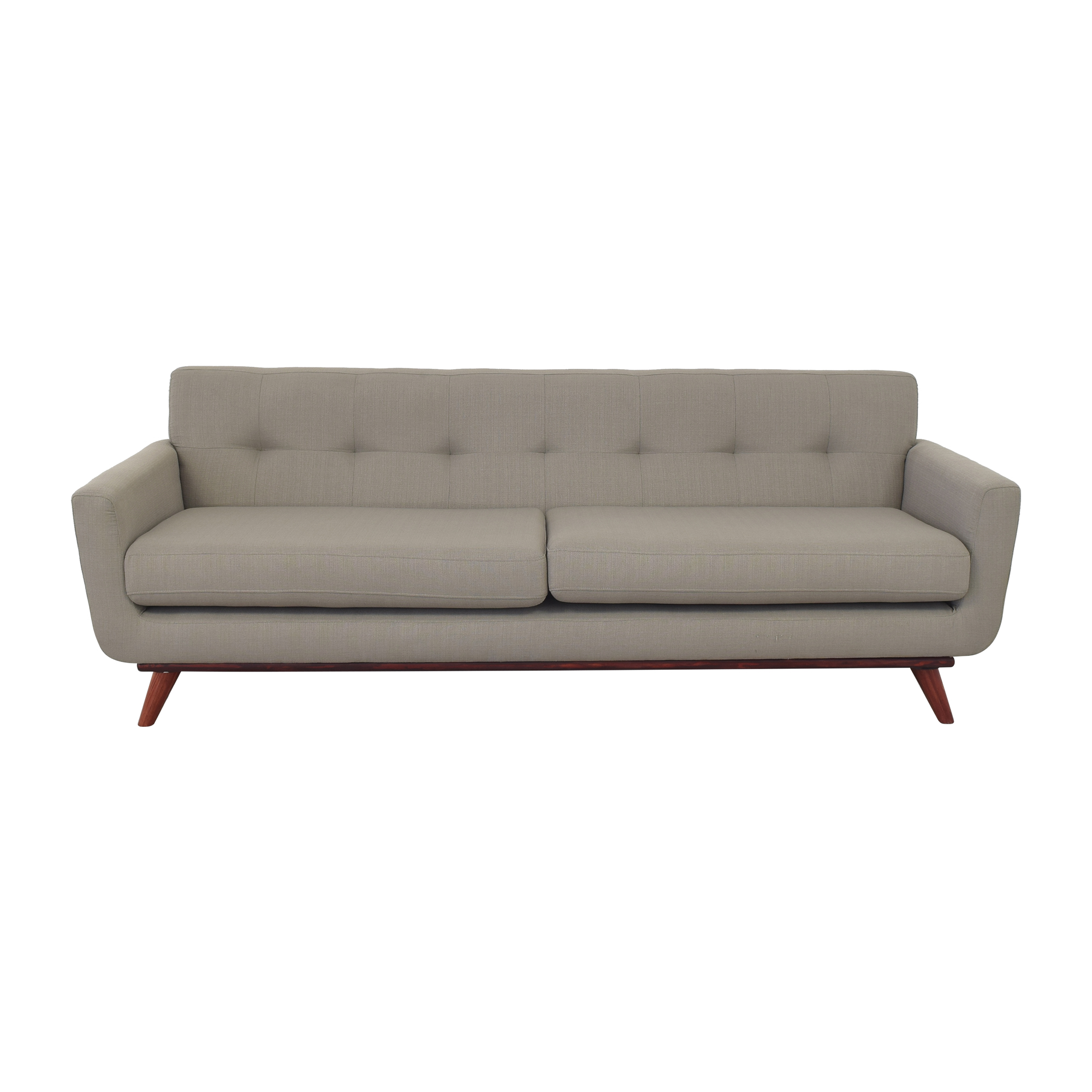 Mid Century Modern Two Cushion Sofa ma