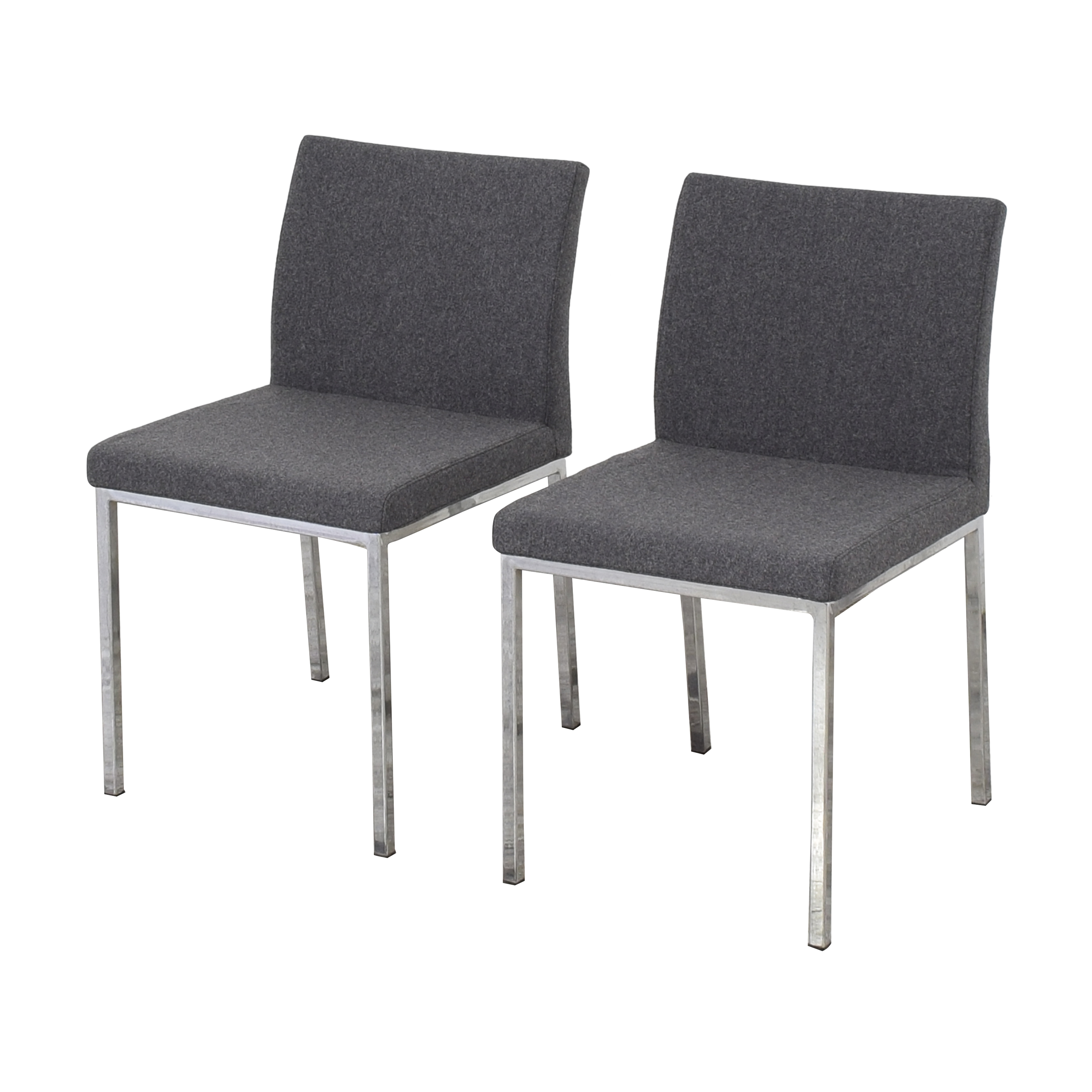 Crate & Barrel Crate & Barrel Upholstered Dining Chairs