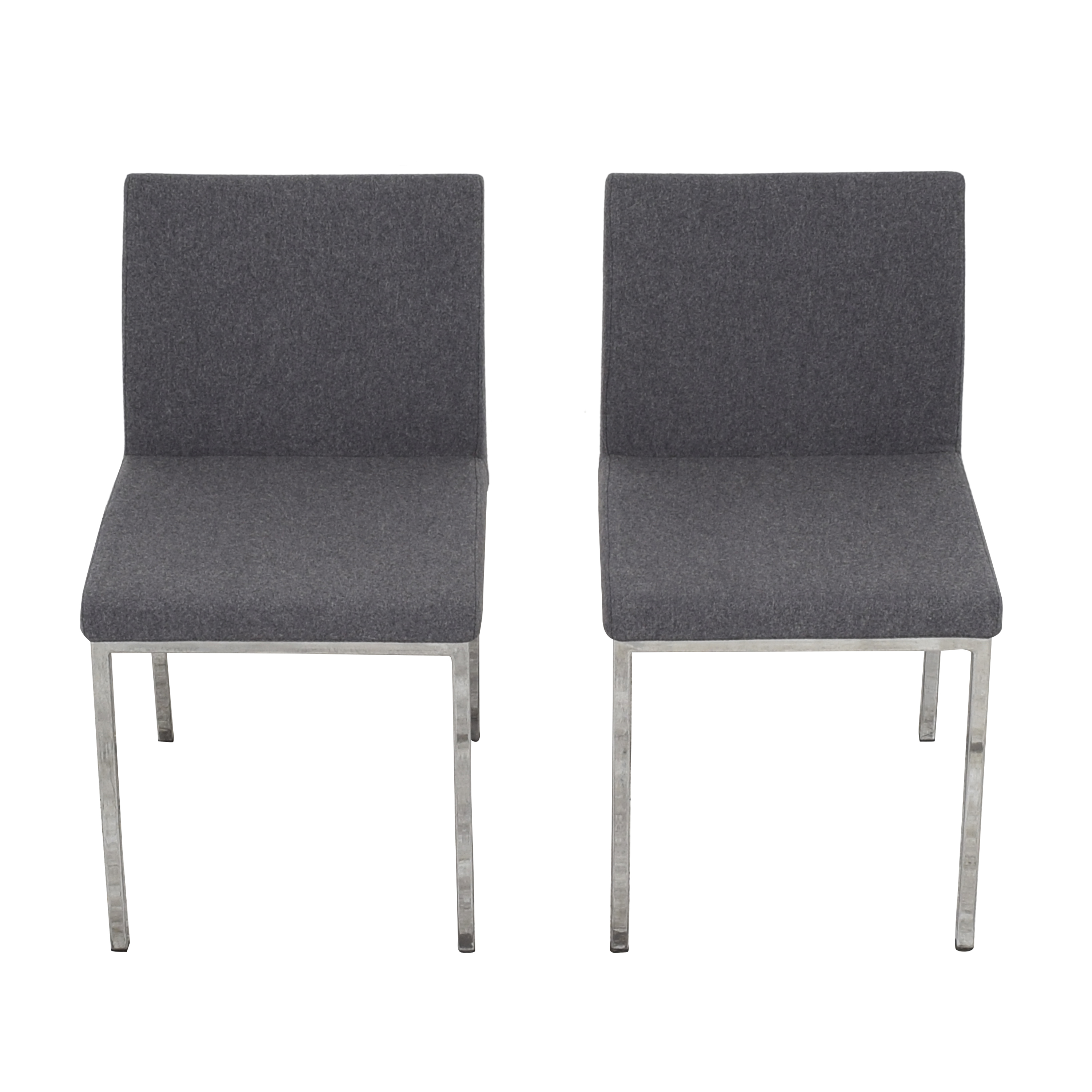 Crate & Barrel Crate & Barrel Upholstered Dining Chairs nyc