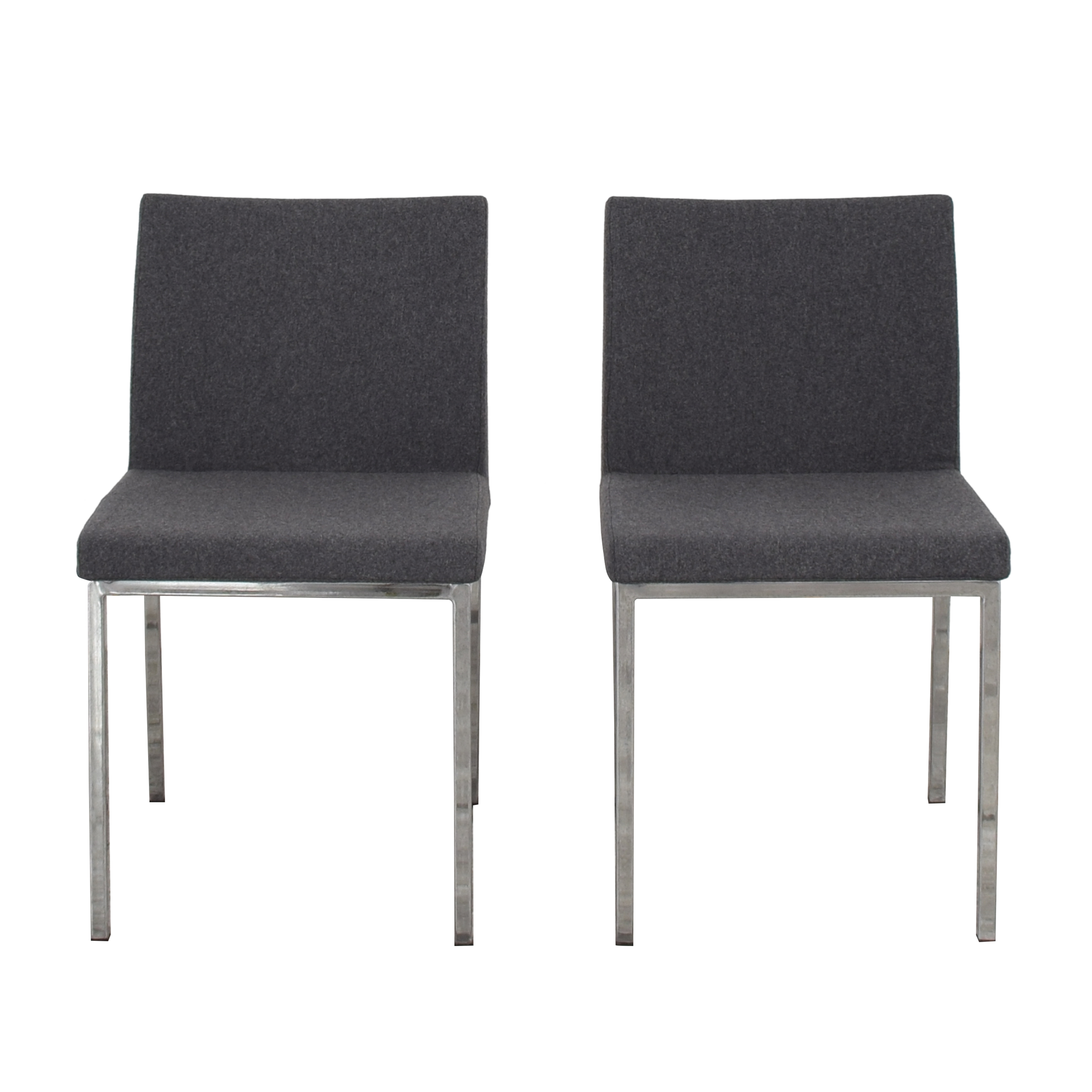 Crate & Barrel Crate & Barrel Upholstered Dining Chairs nj
