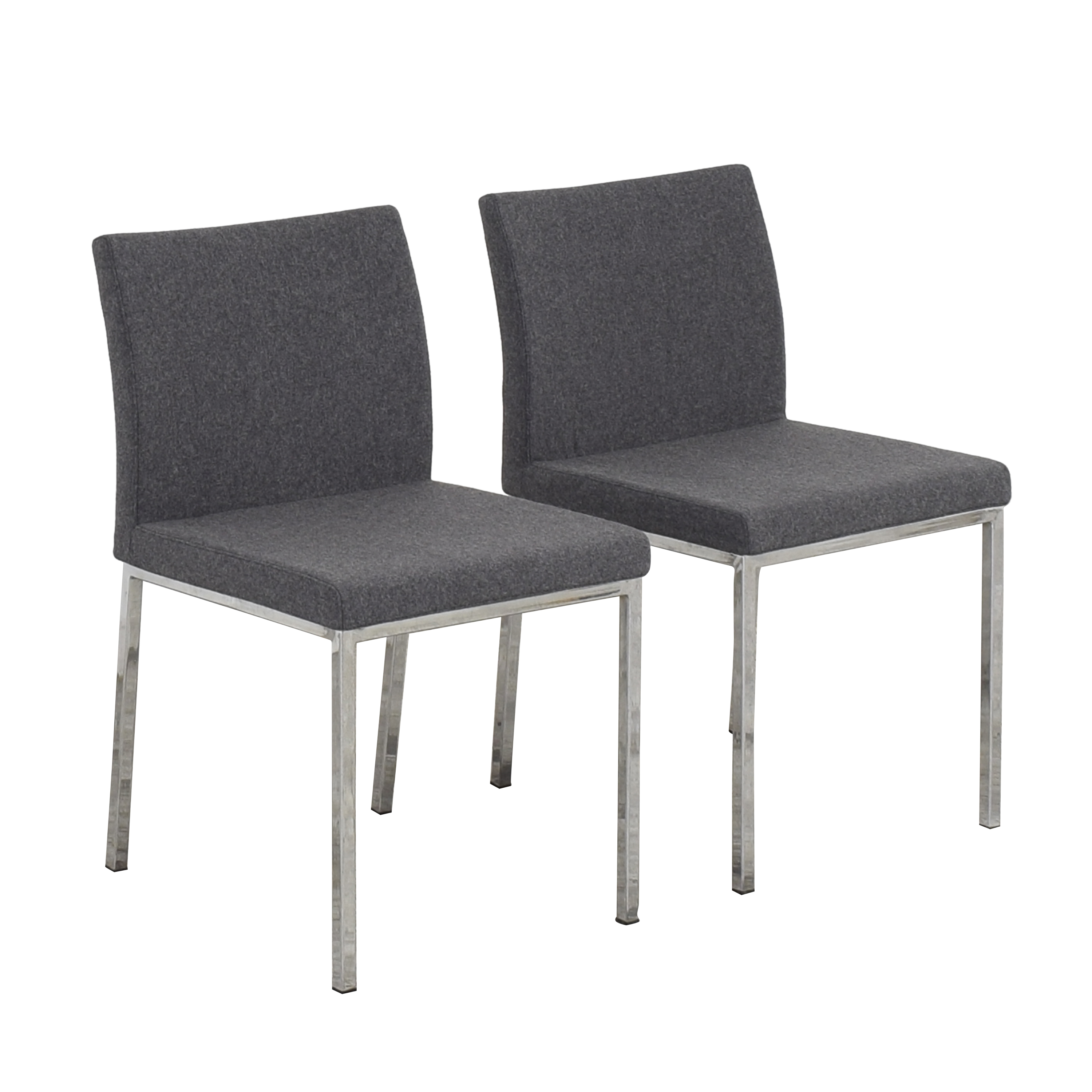 buy Crate & Barrel Upholstered Dining Chairs Crate & Barrel Dining Chairs