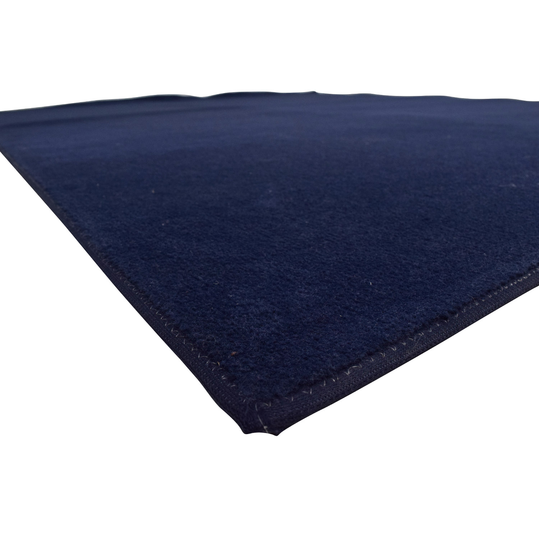 shop Empress Navy Blue Carpet Empress Carpet Rugs