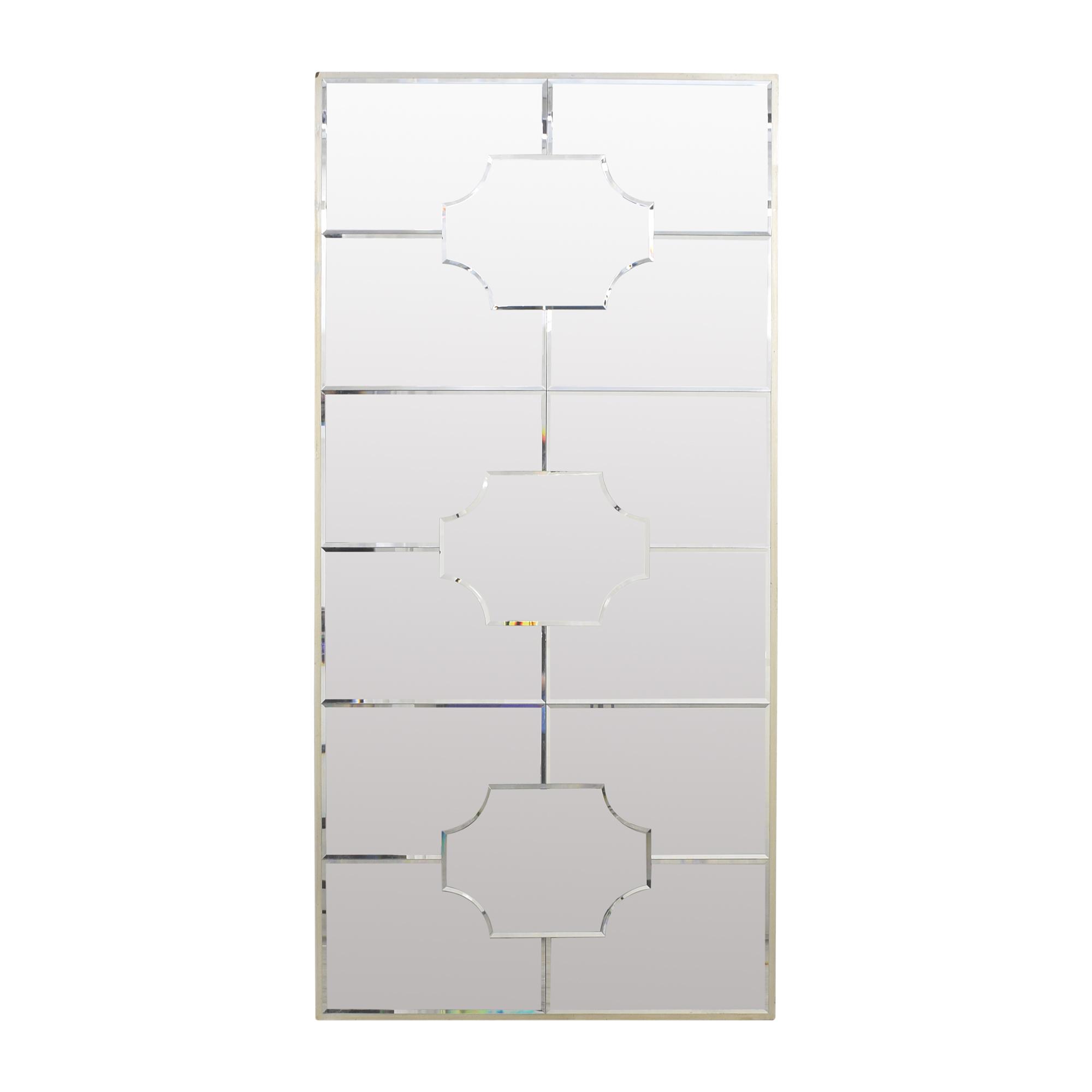 West Elm Art Deco Floor Mirror / Decor