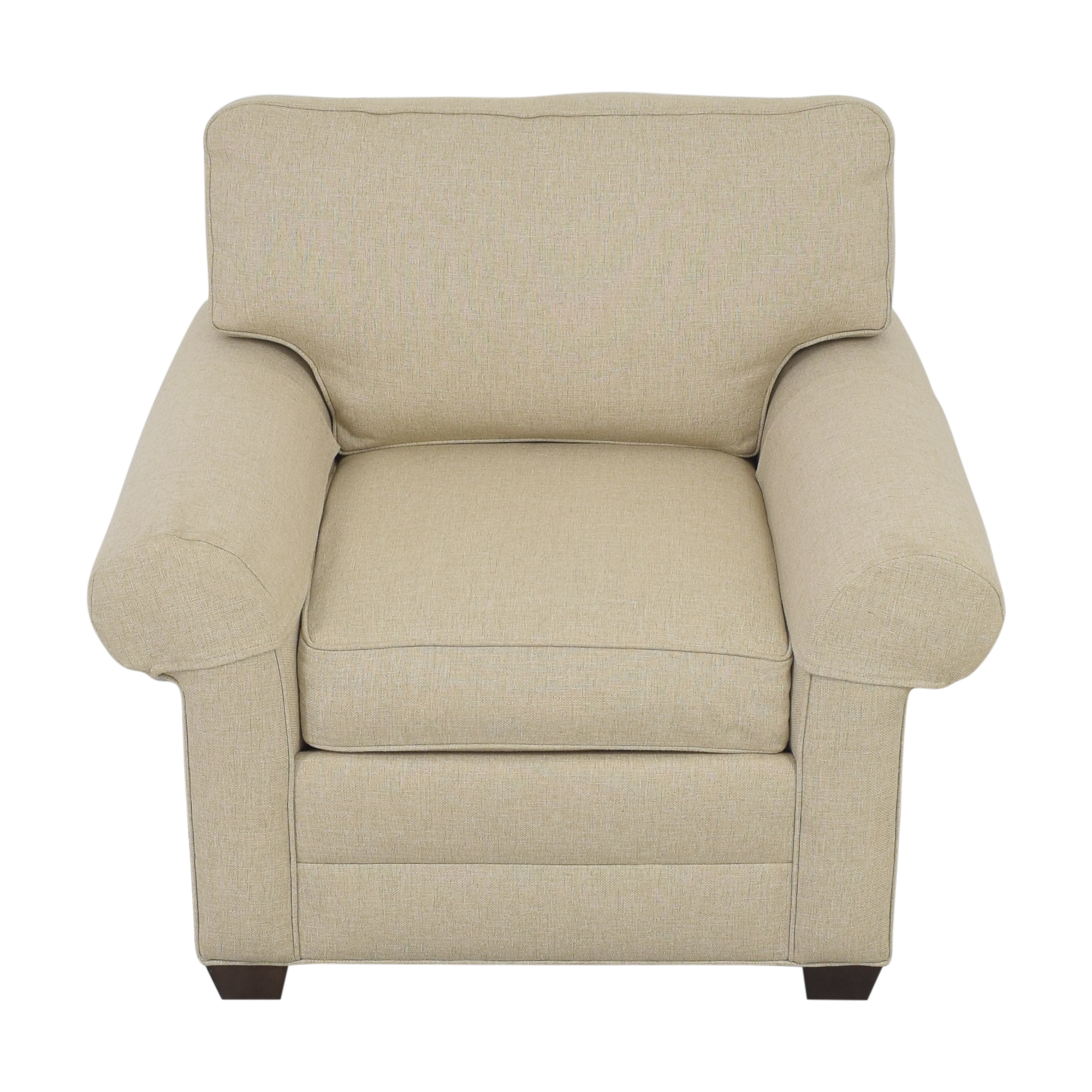 Ethan Allen Roll Arm Accent Chair / Accent Chairs