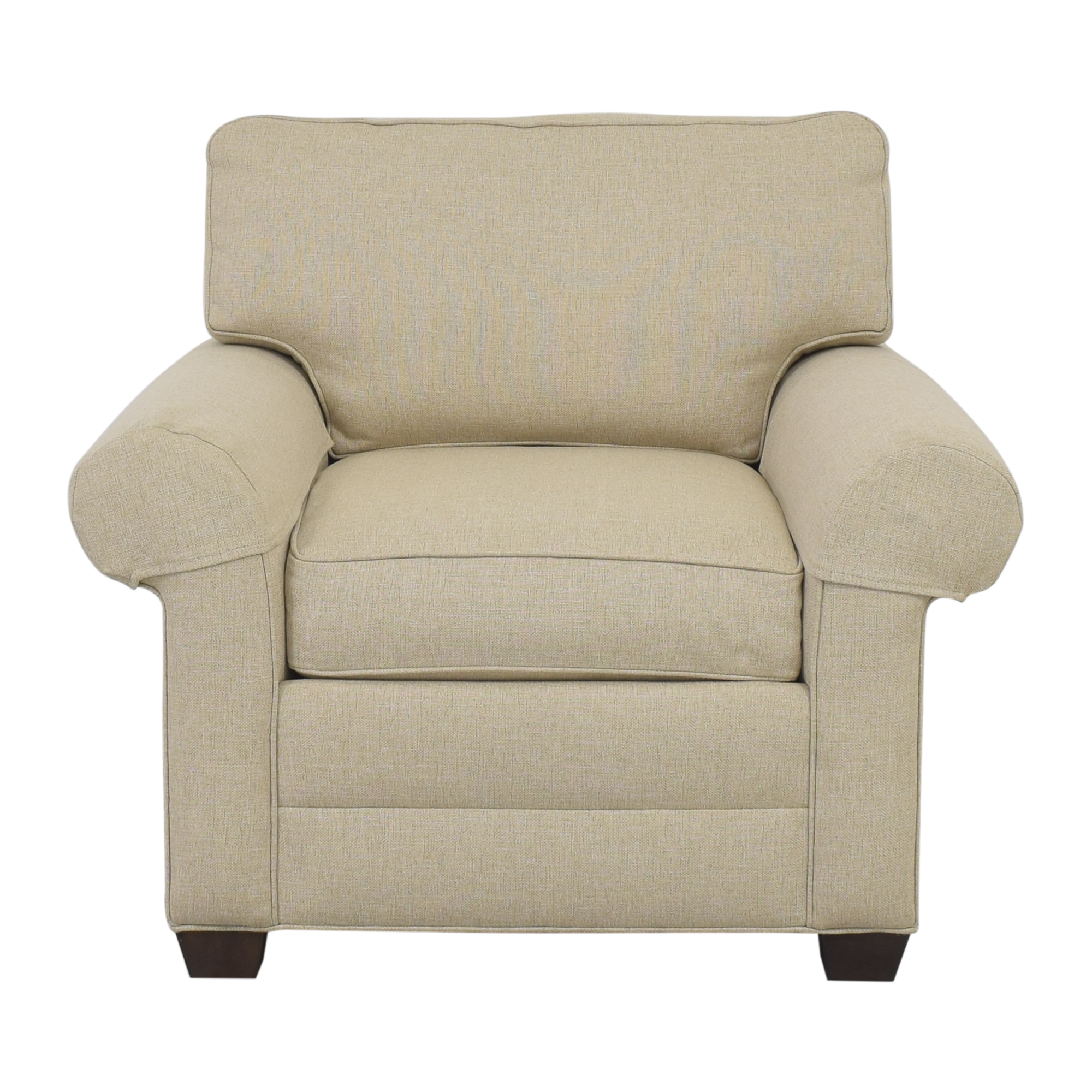 Ethan Allen Ethan Allen Roll Arm Accent Chair price