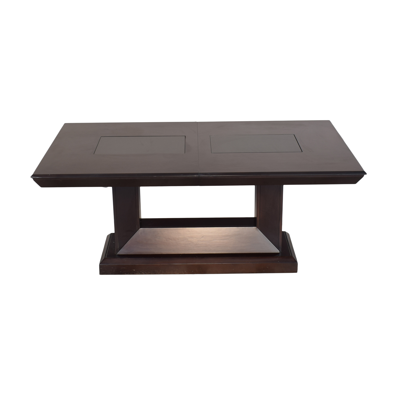 Najarian Furniture Najarian Woodbridge Formal Dining Table used