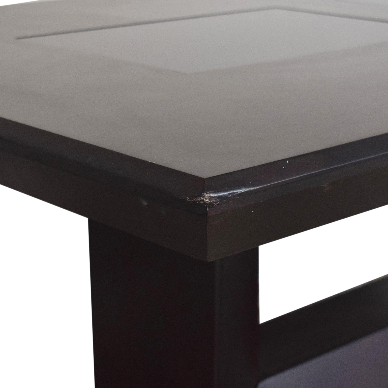 Najarian Furniture Najarian Woodbridge Formal Dining Table dark brown