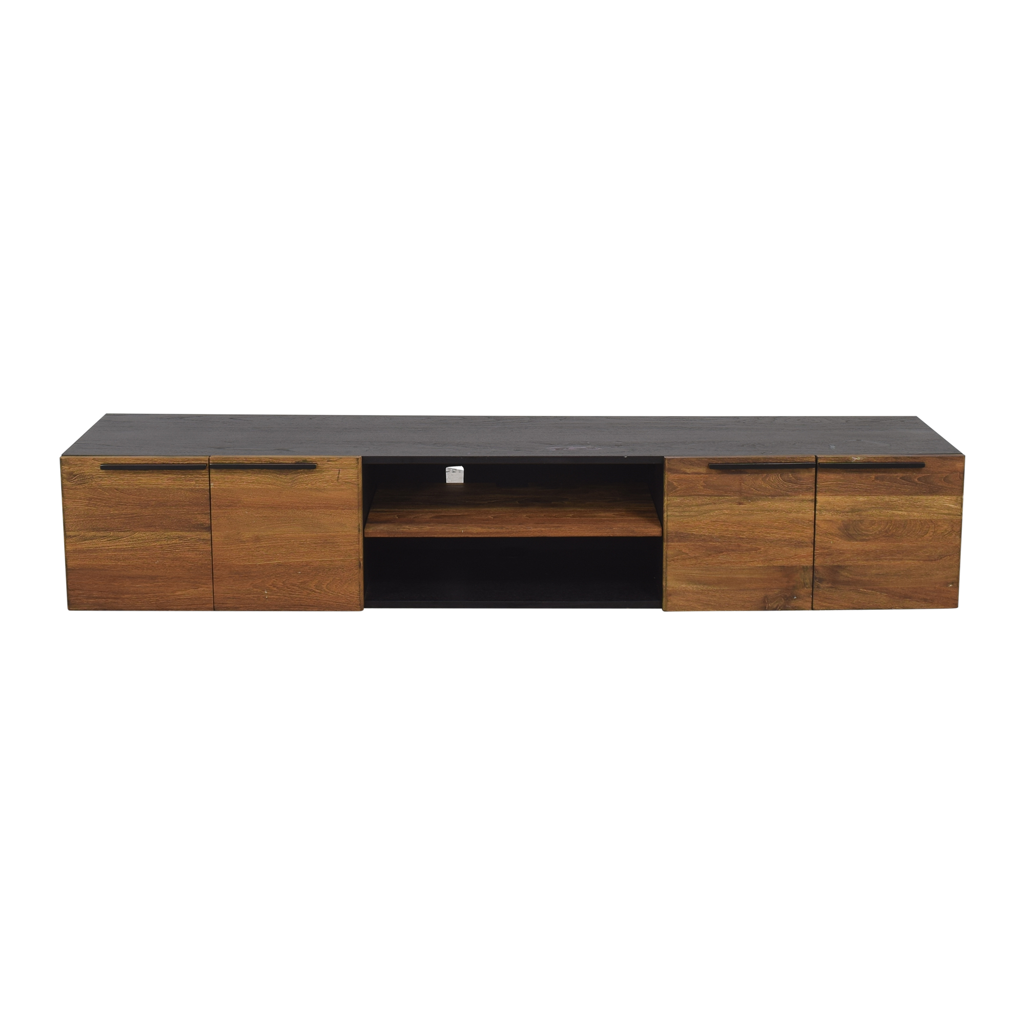 Crate & Barrel Crate & Barrel Rigby Large Floating Media Console used