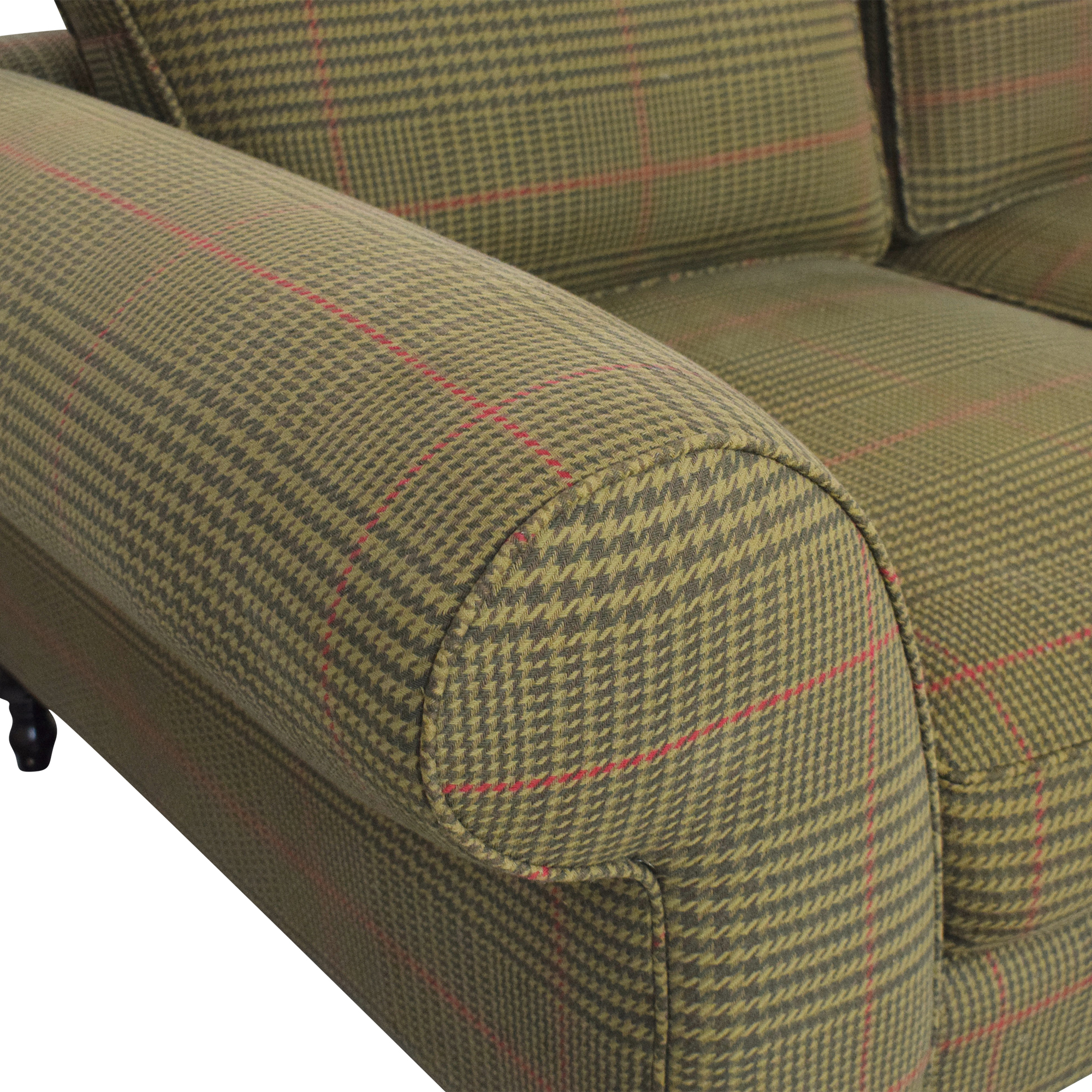 Roll Arm Three Seat Sofa dimensions