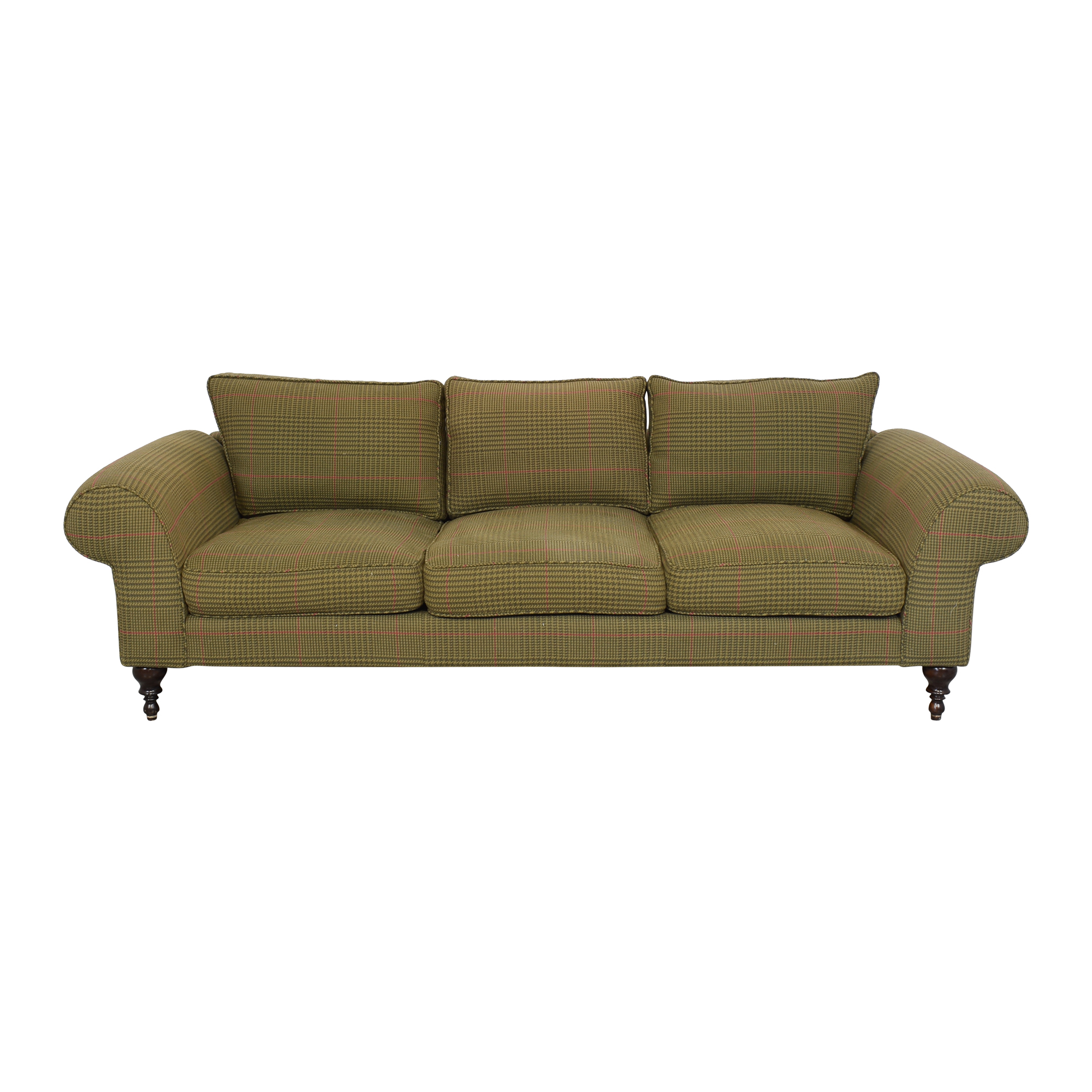 Roll Arm Three Seat Sofa / Classic Sofas