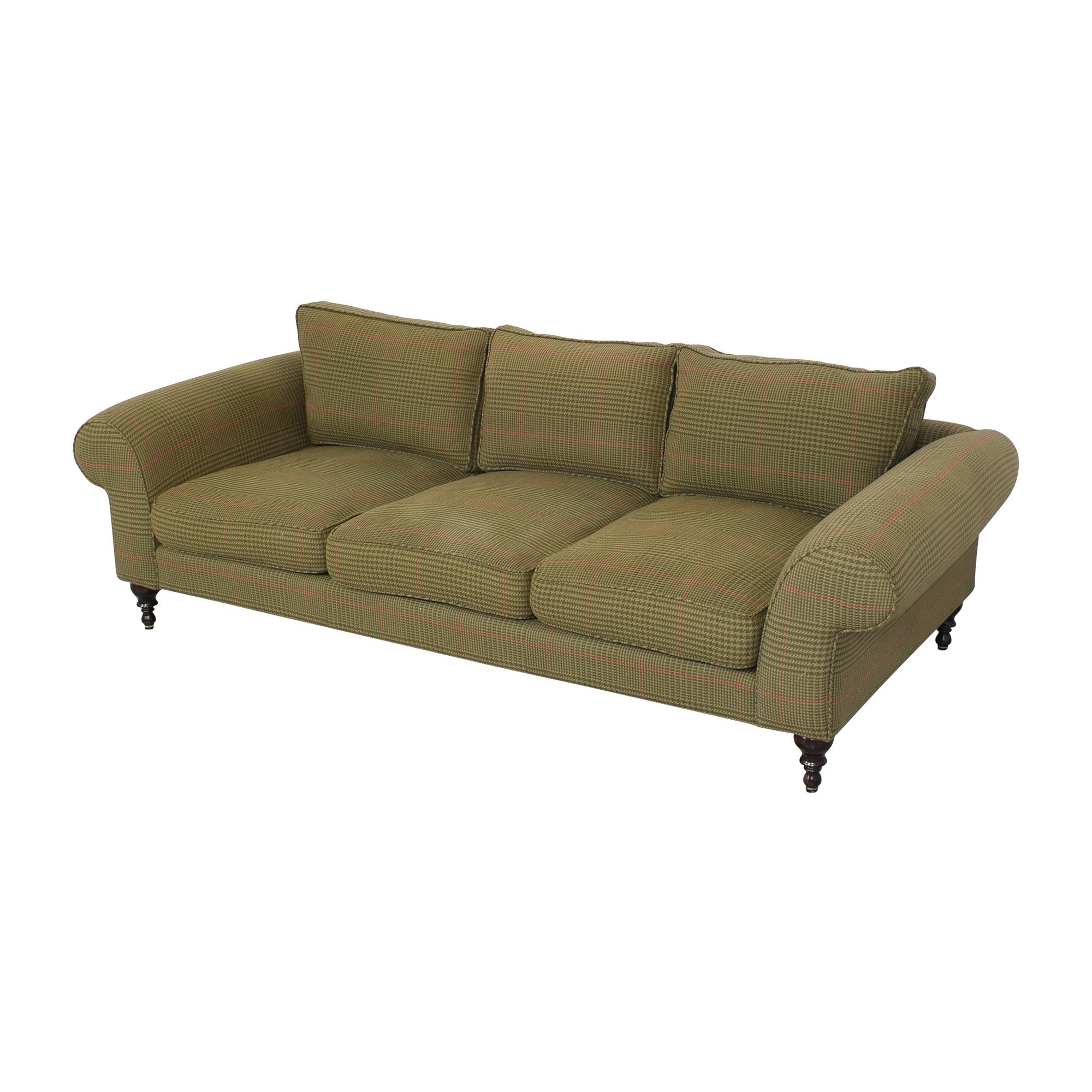Roll Arm Three Seat Sofa ma