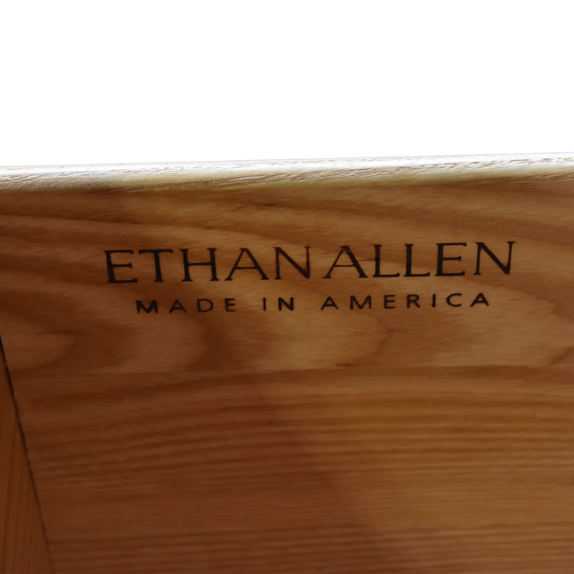 Ethan Allen Ethan Allen Bookcase with Filing Cabinets on sale